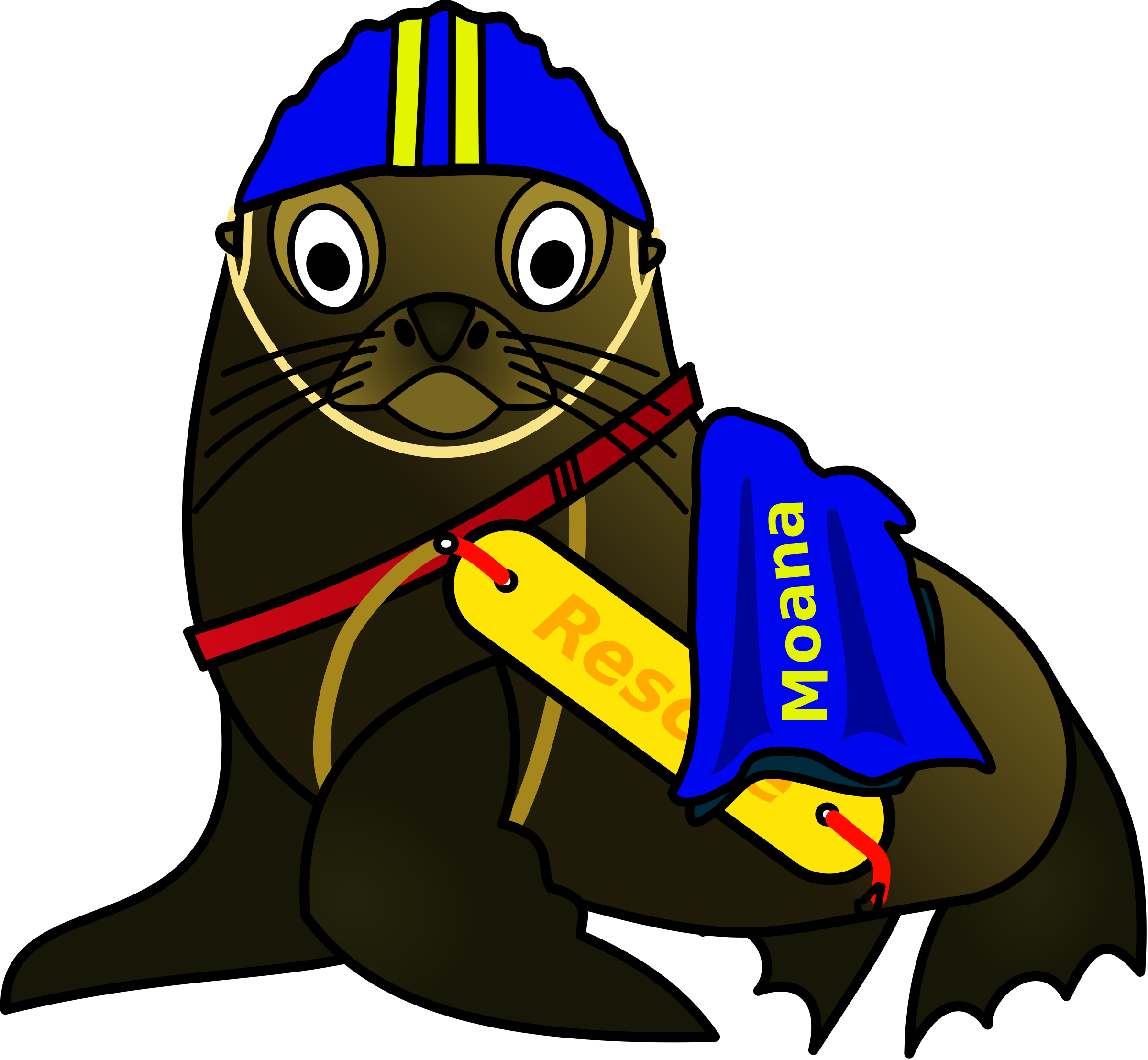 Surf Life Saving Seal by osotogari