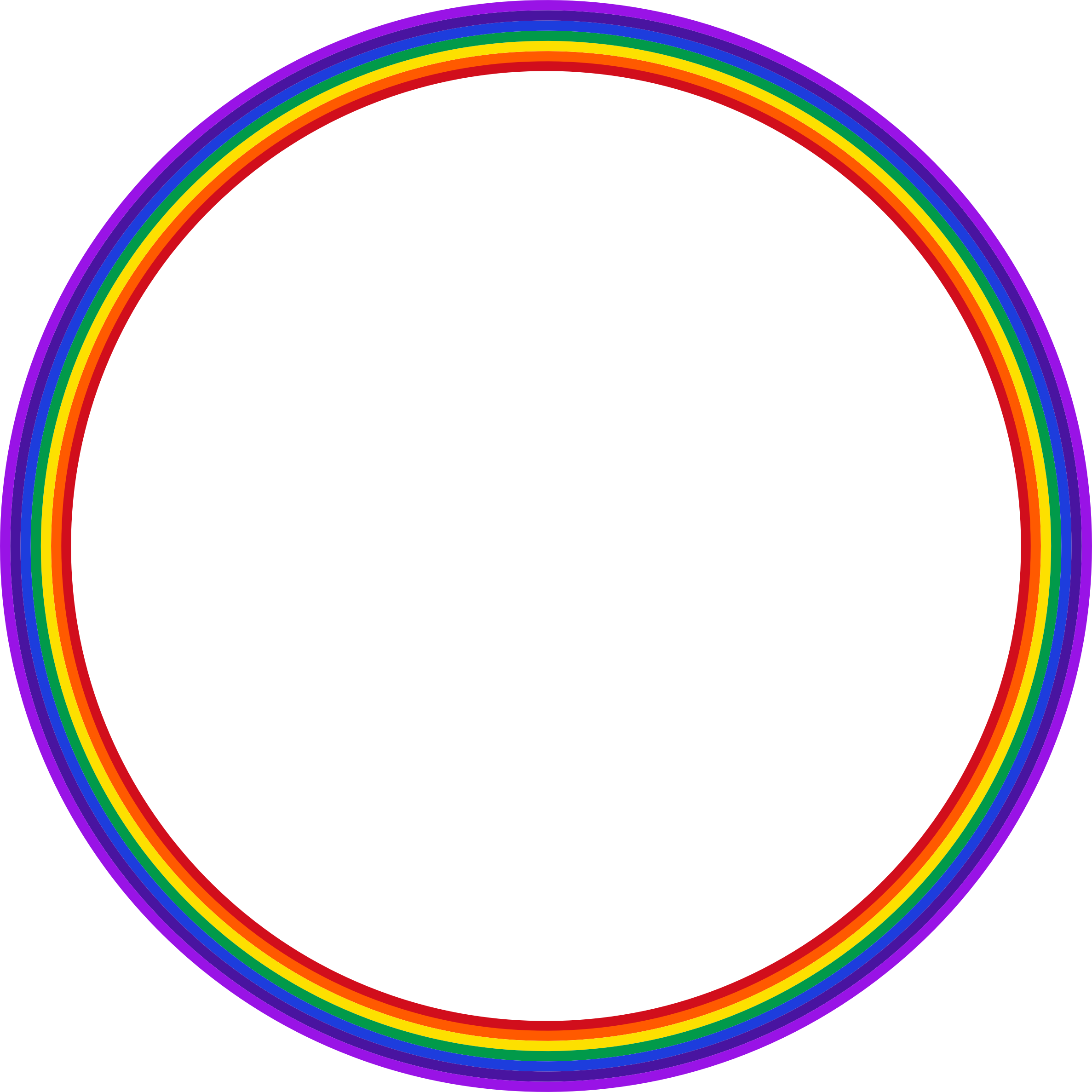 Clipart Rainbow Circle 2
