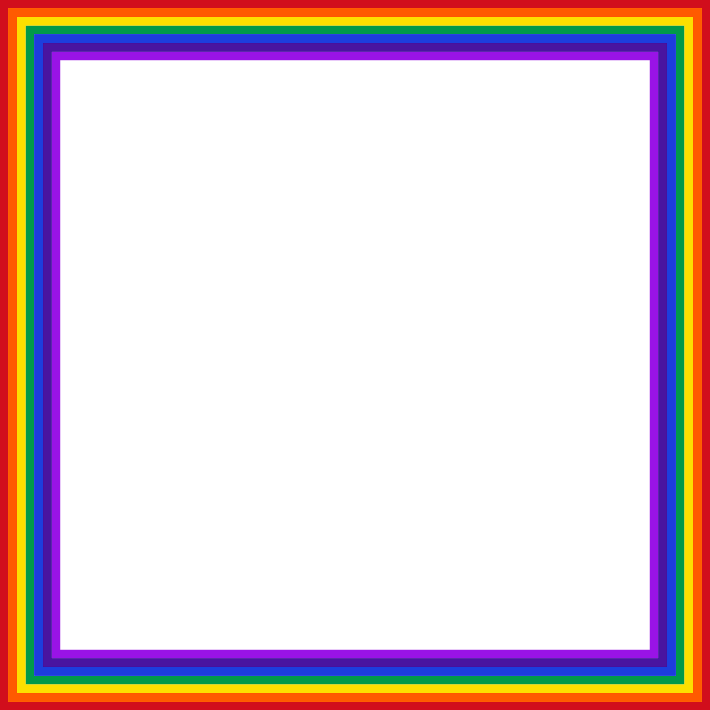 Rainbow Square by GDJ