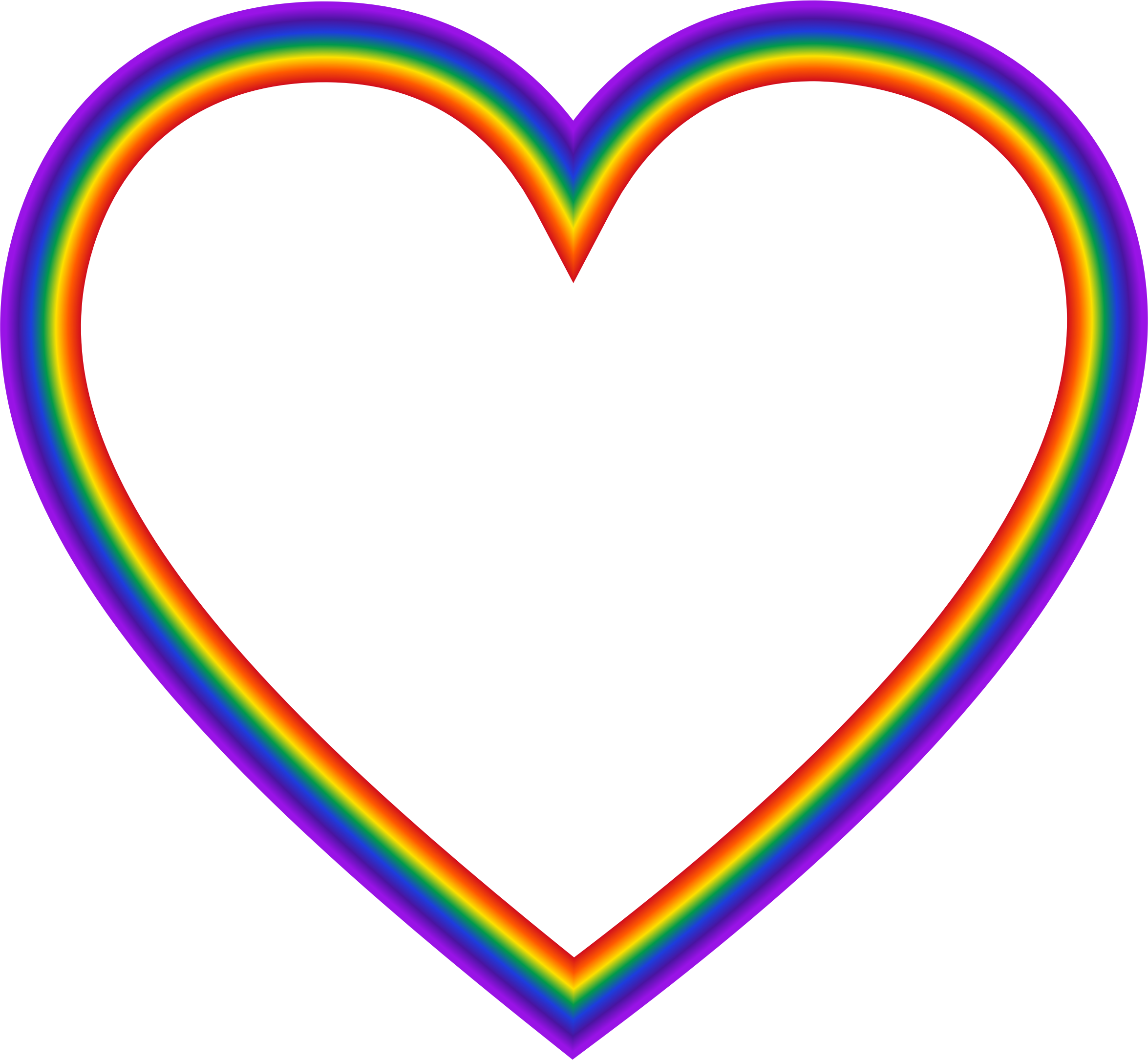 Rainbow Heart by GDJ