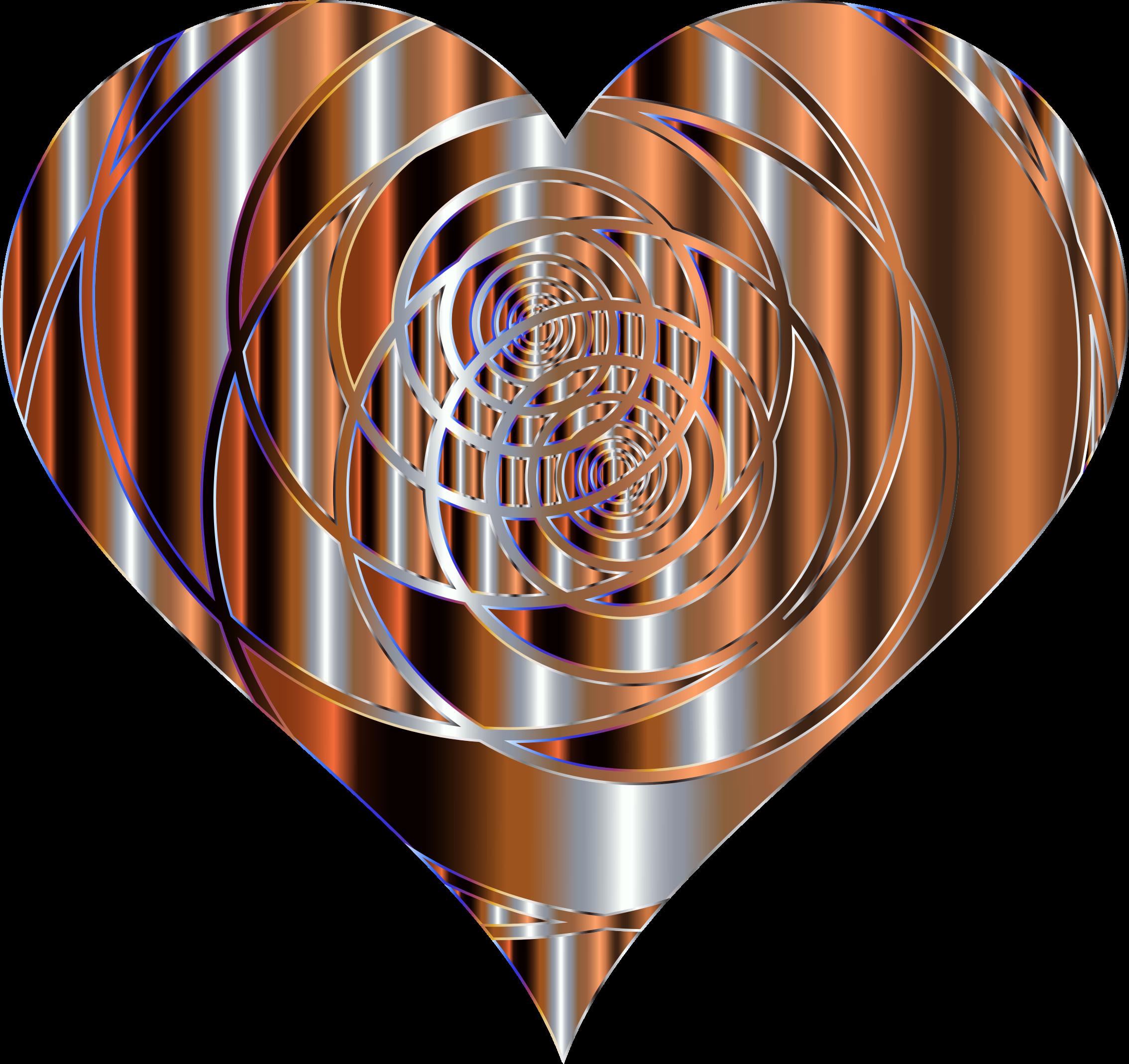 Clipart - Spiral Heart 12 Variation 2