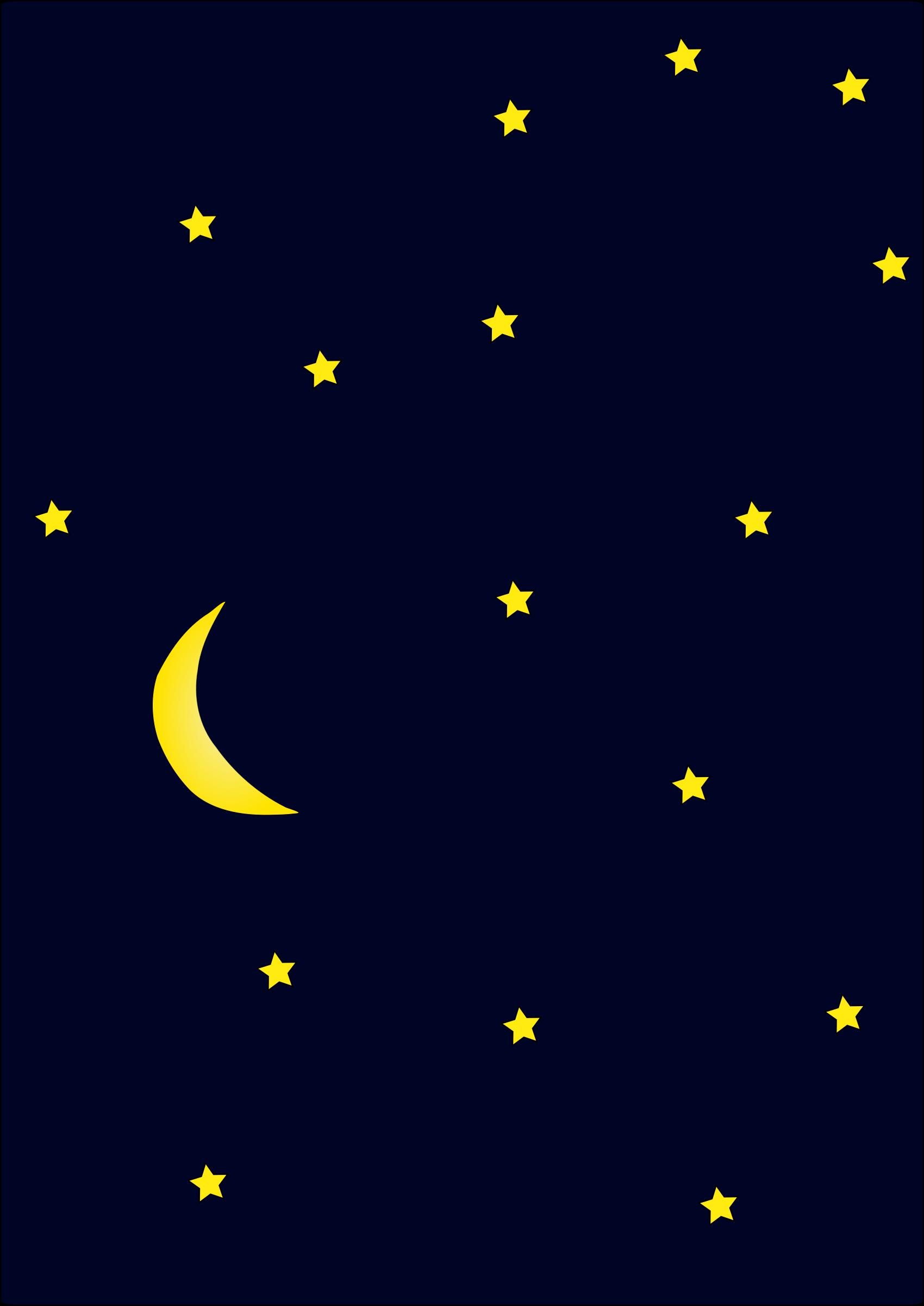 clipart night - photo #17