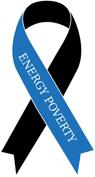 Energy Poverty ribbon by miguelcastellano