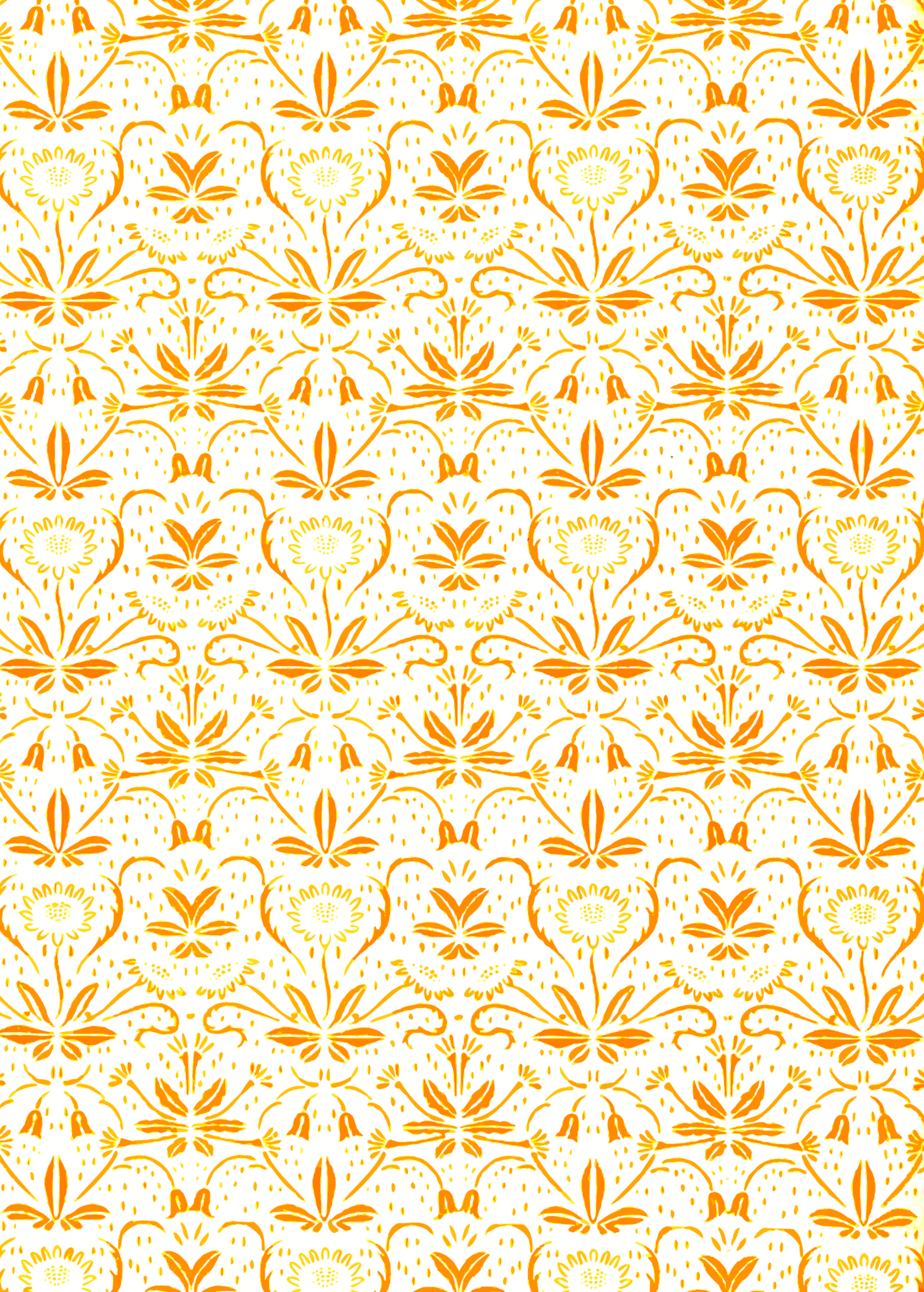 Flowery pattern (brighter) by Firkin