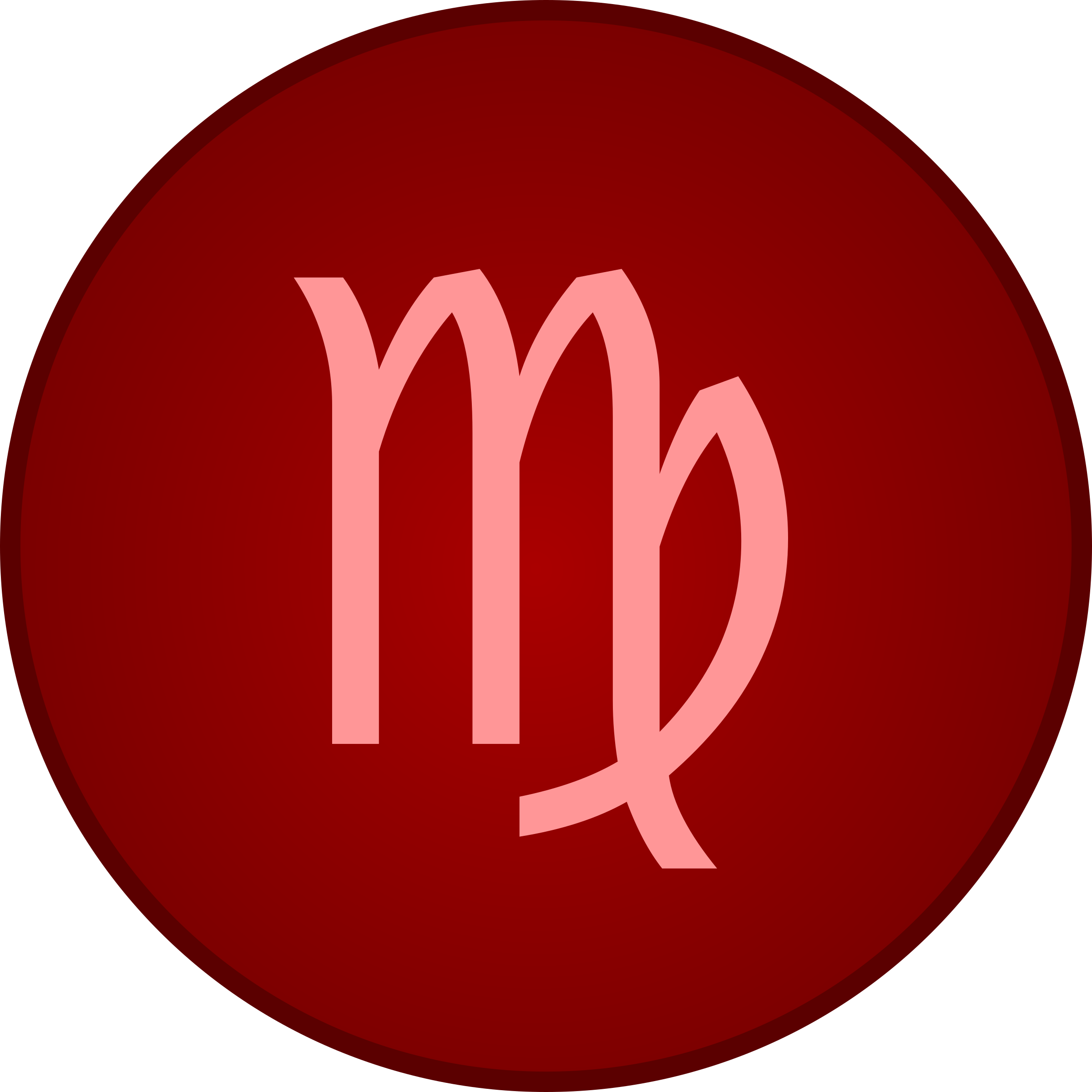 Virgo symbol by Firkin