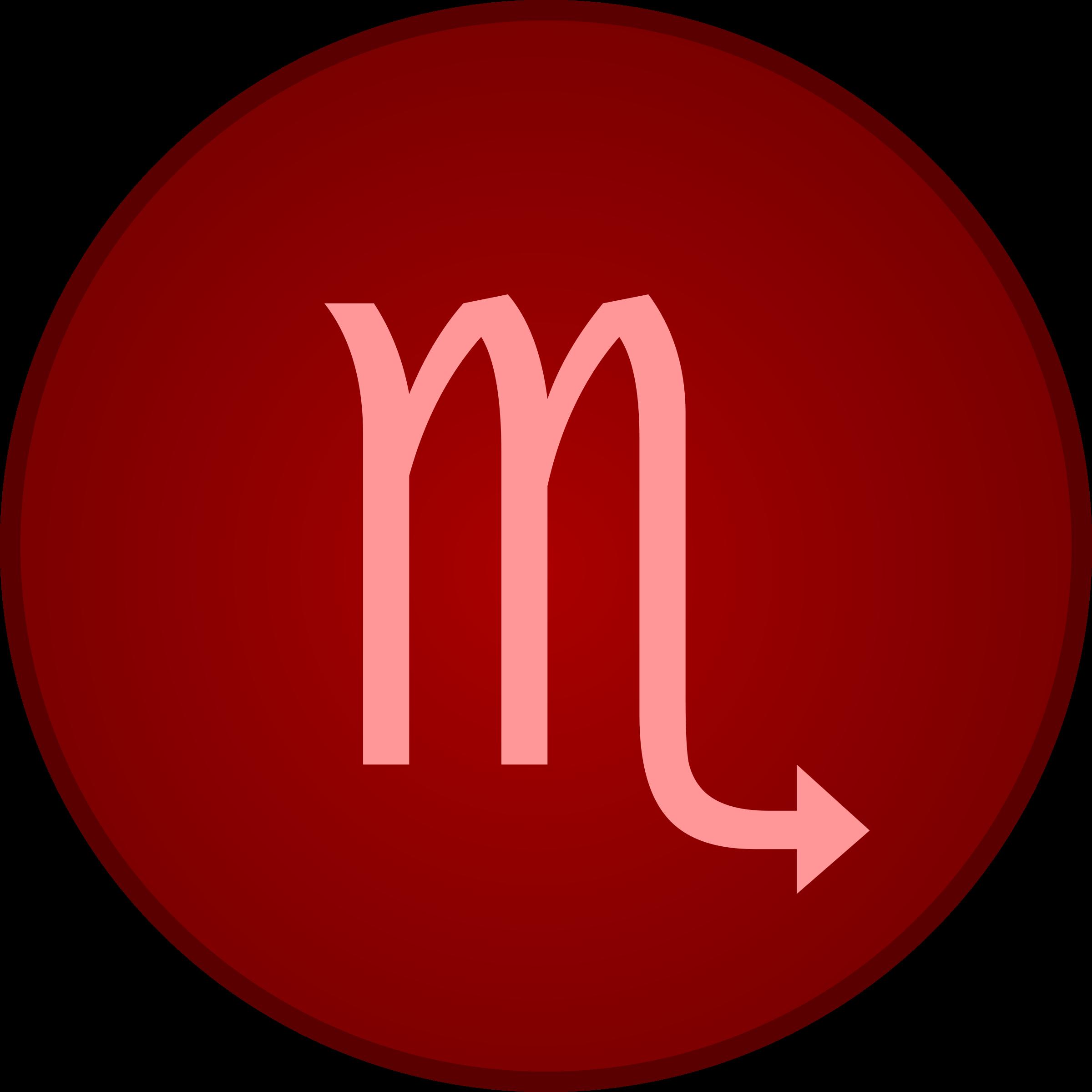 Clipart Scorpio Symbol
