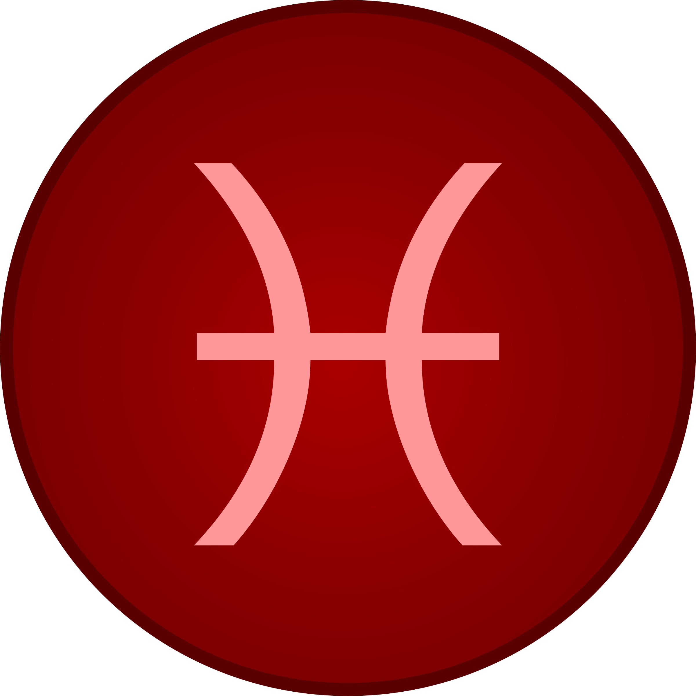 Pisces symbol by Firkin