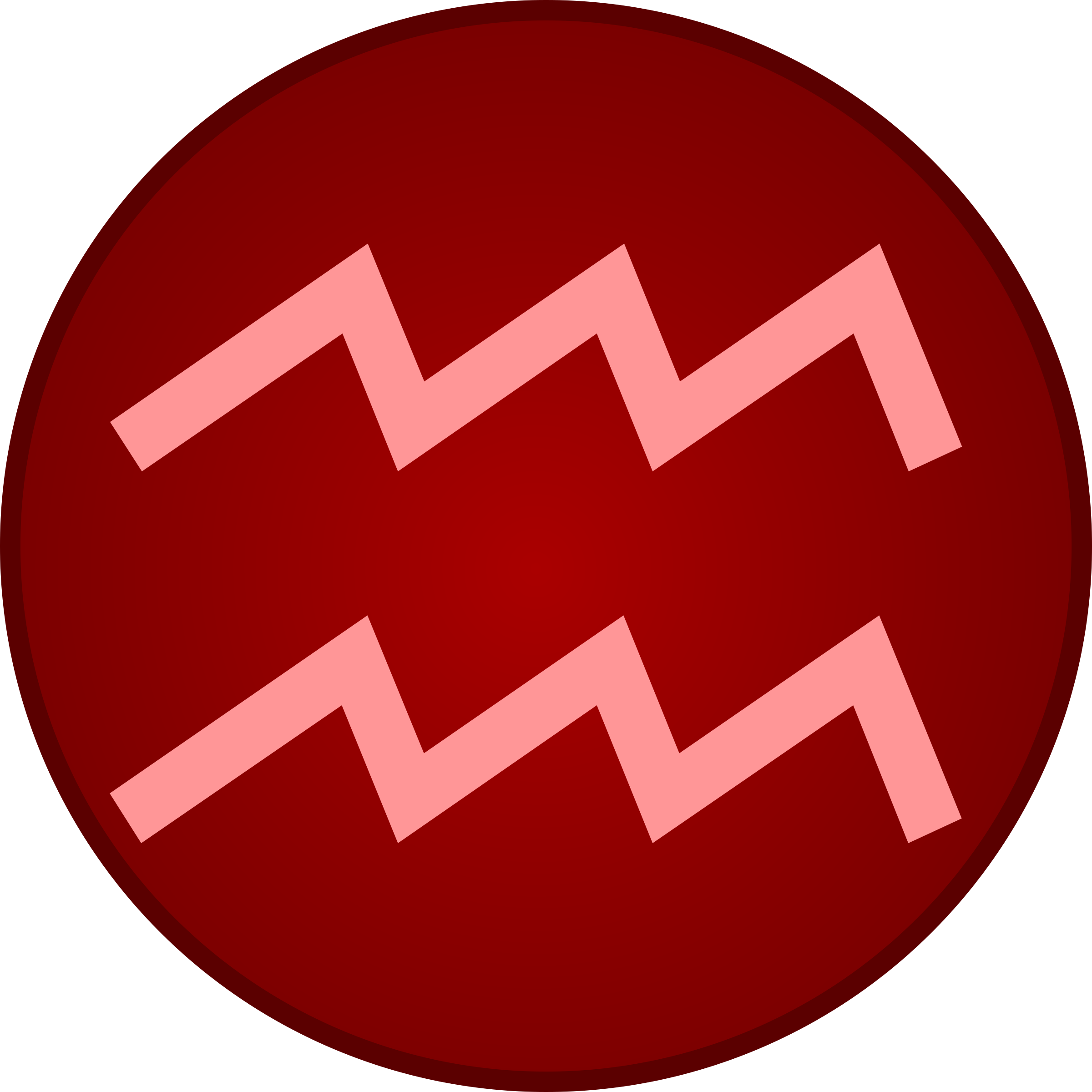 clipart aquarius symbol