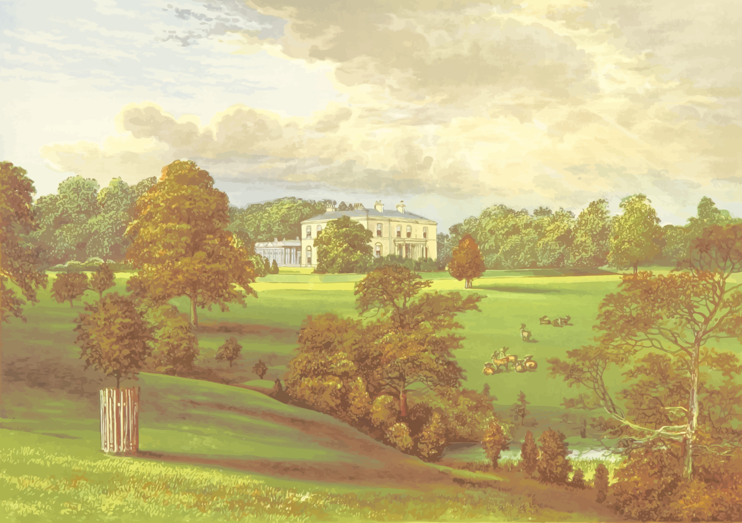 Ashcombe Park by Firkin
