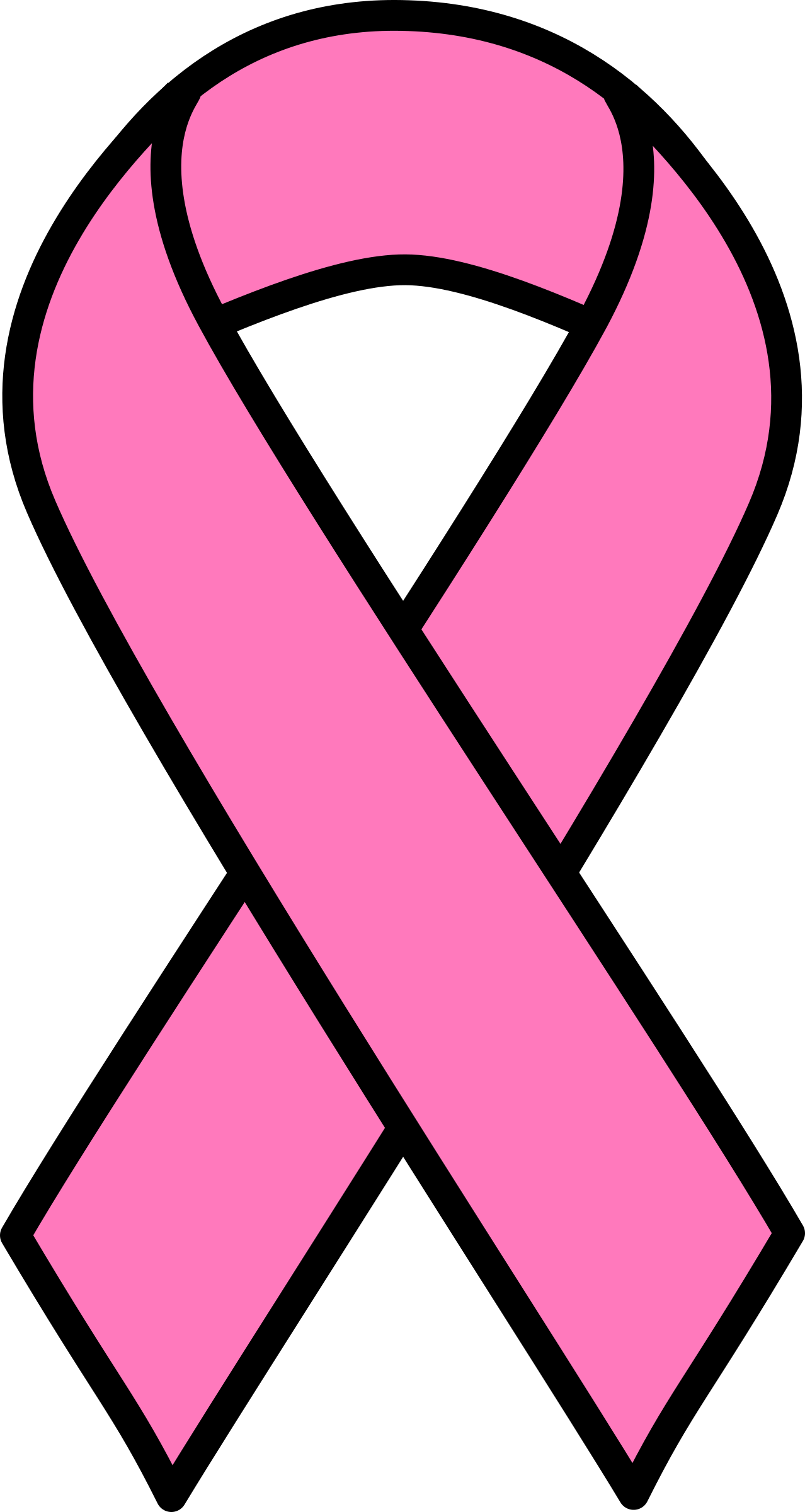 Breast cancer ribbon photo