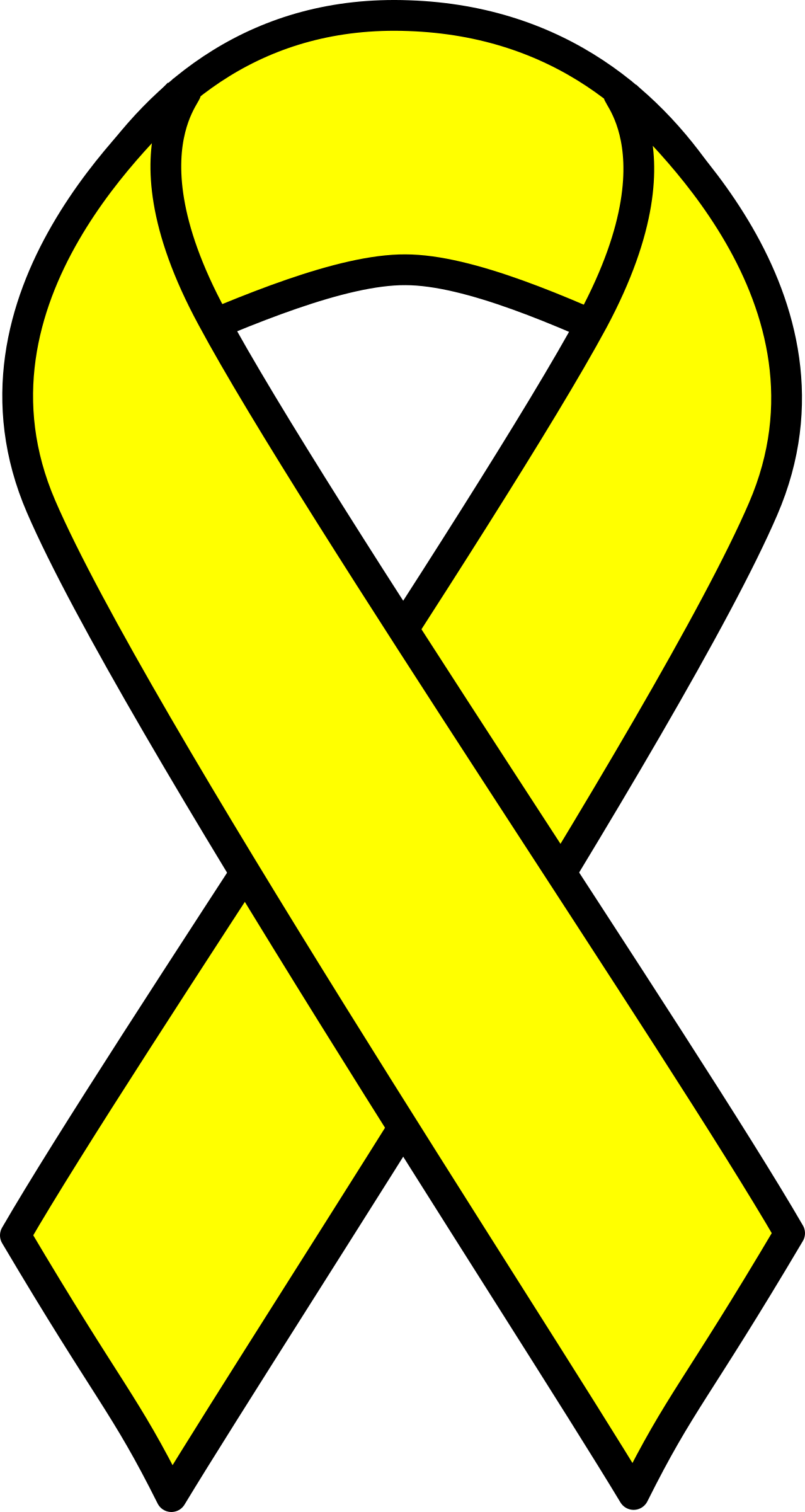 Yellow Ribbon by barnheartowl