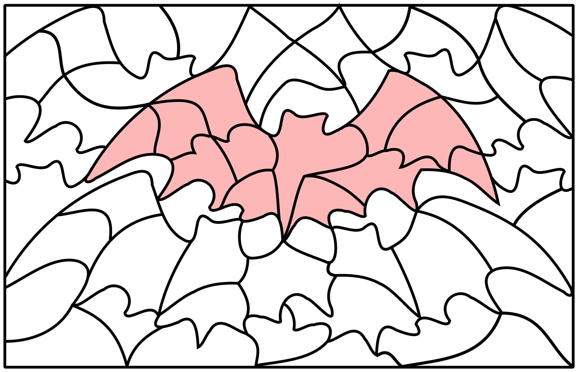 puzzle picture bat by frankes