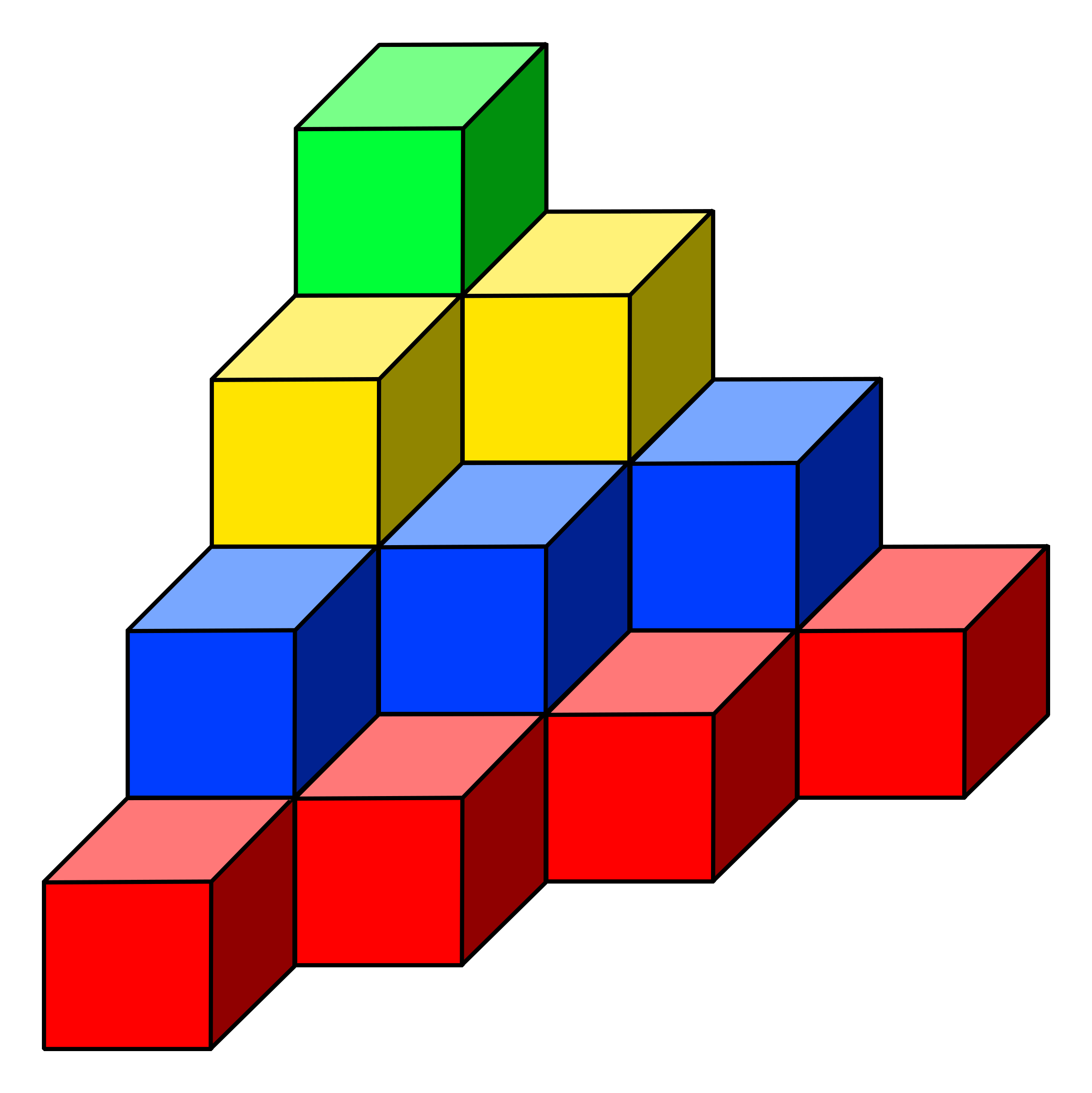 cube tower 01 by frankes