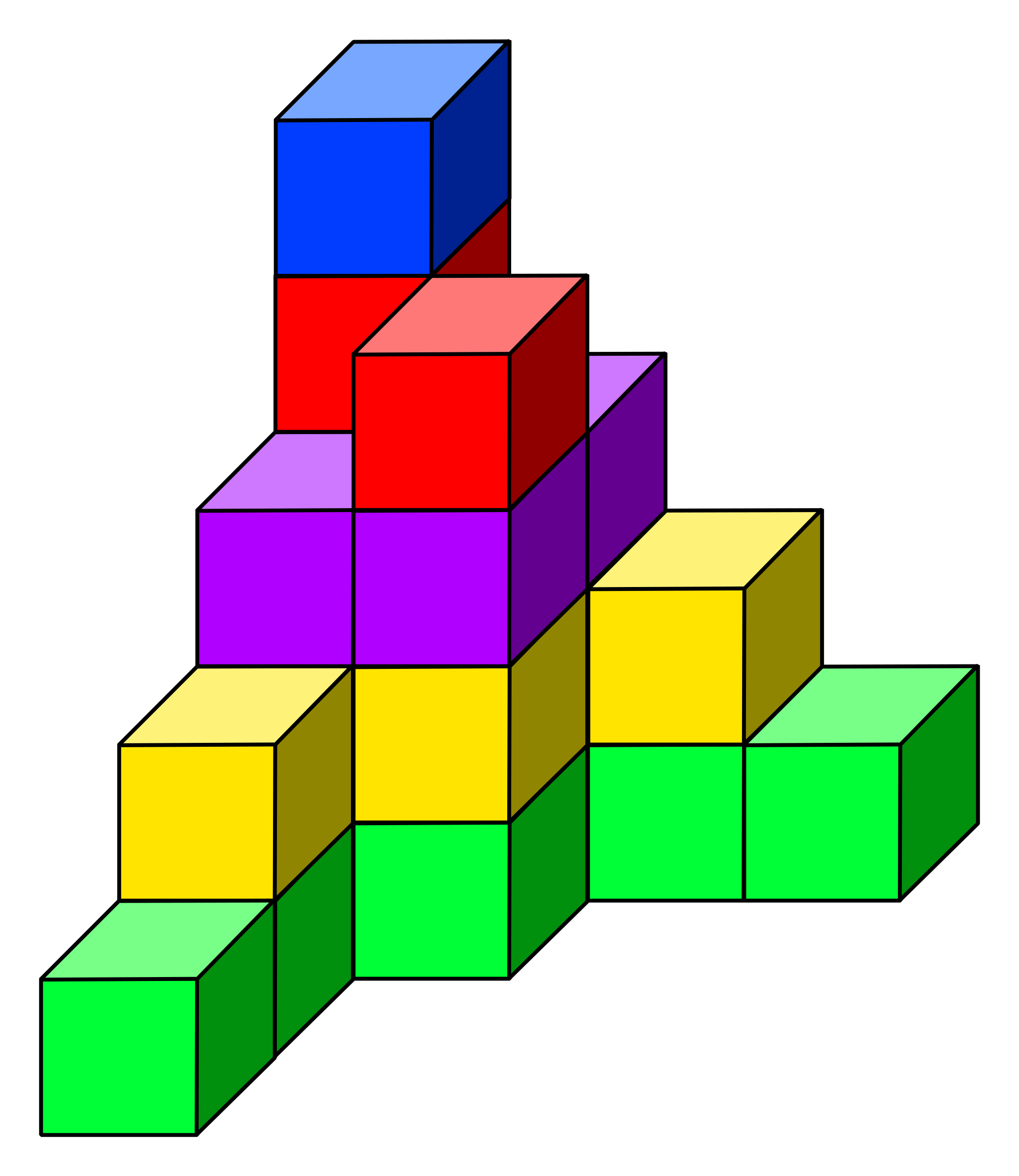 cube tower 11 by frankes