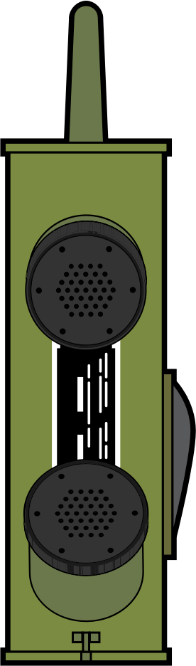 WW2 Handheld radio by ray4ad