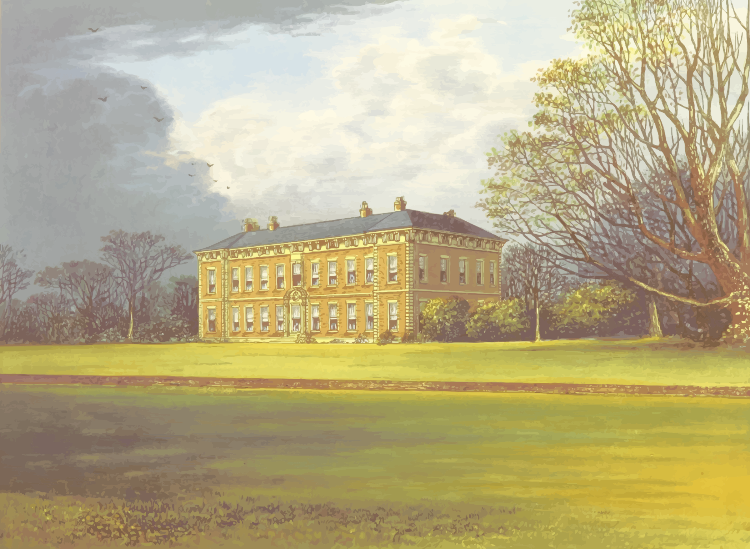 Beningbrough Hall by Firkin