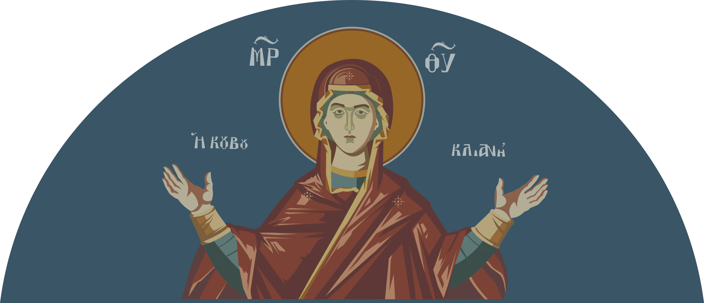 Greek icon by rones