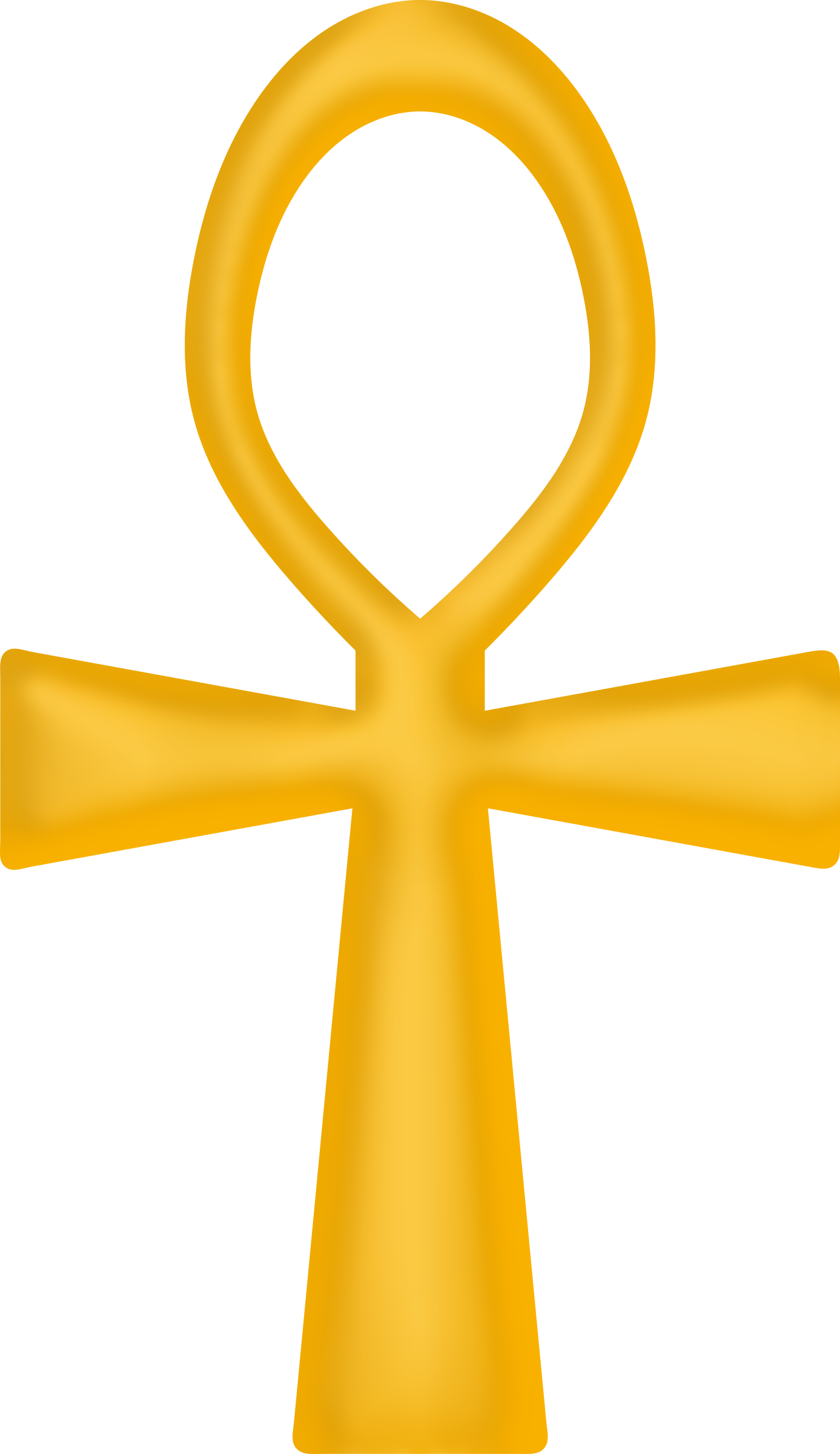 Golden Ankh by Firkin