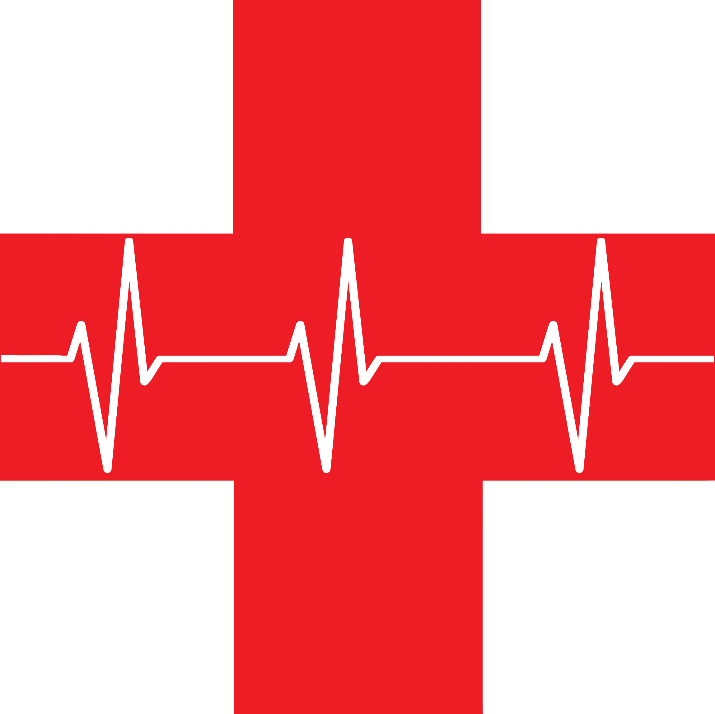 Red Cross First Aid Icon by GDJ
