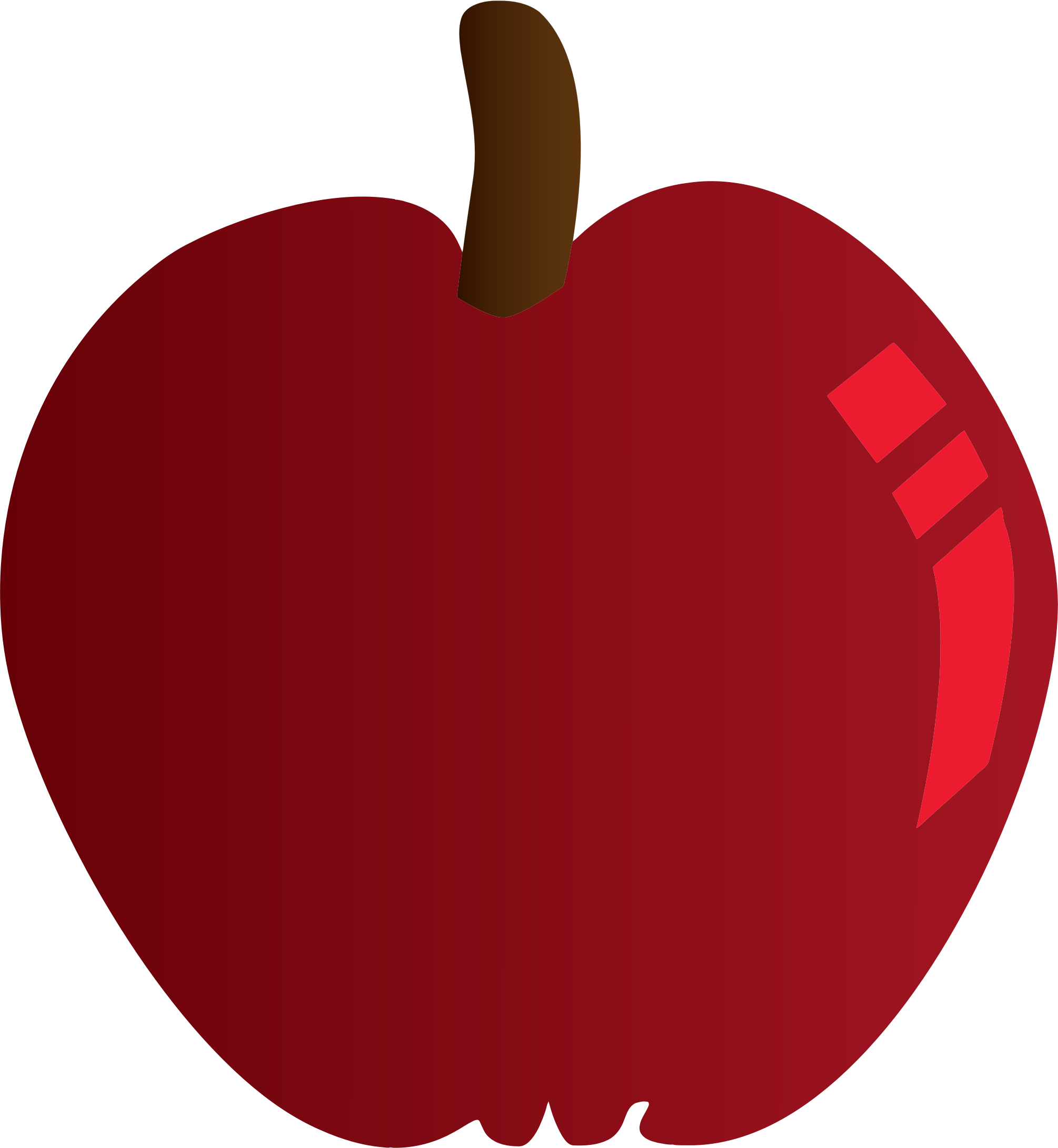 Red Apple by GDJ