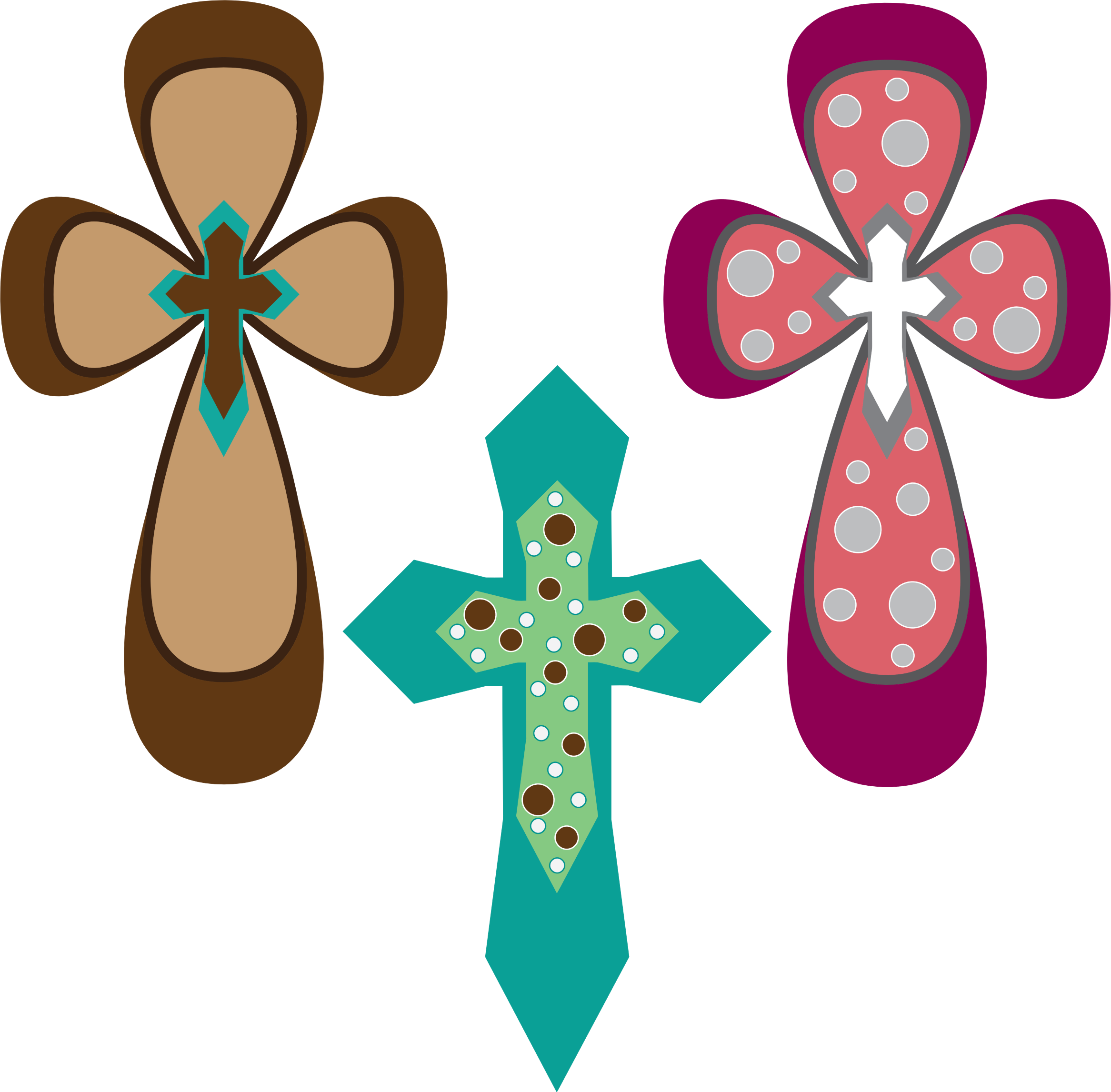 Ornamental Crosses by GDJ