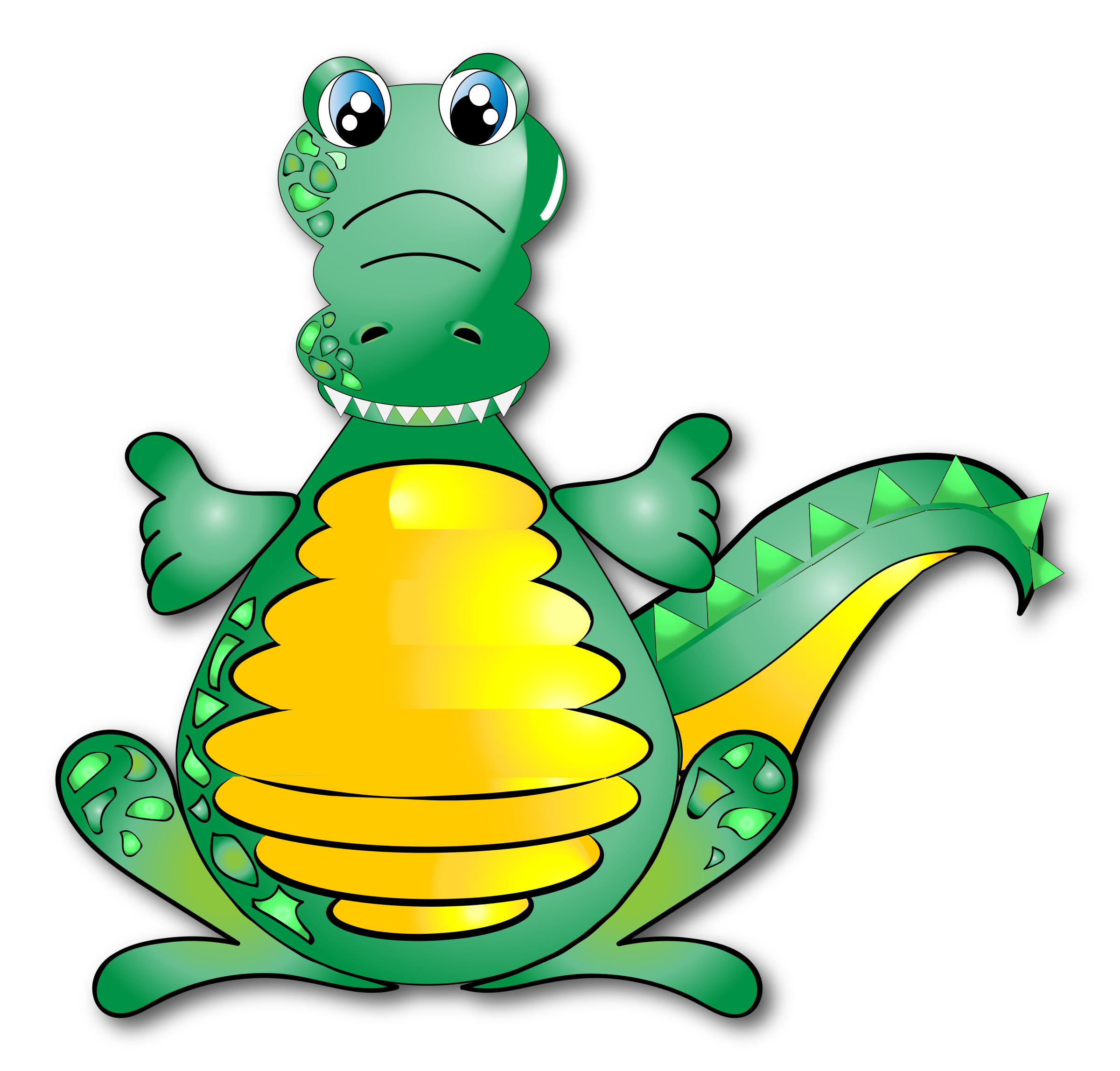 Huggable Crocodile by GDJ