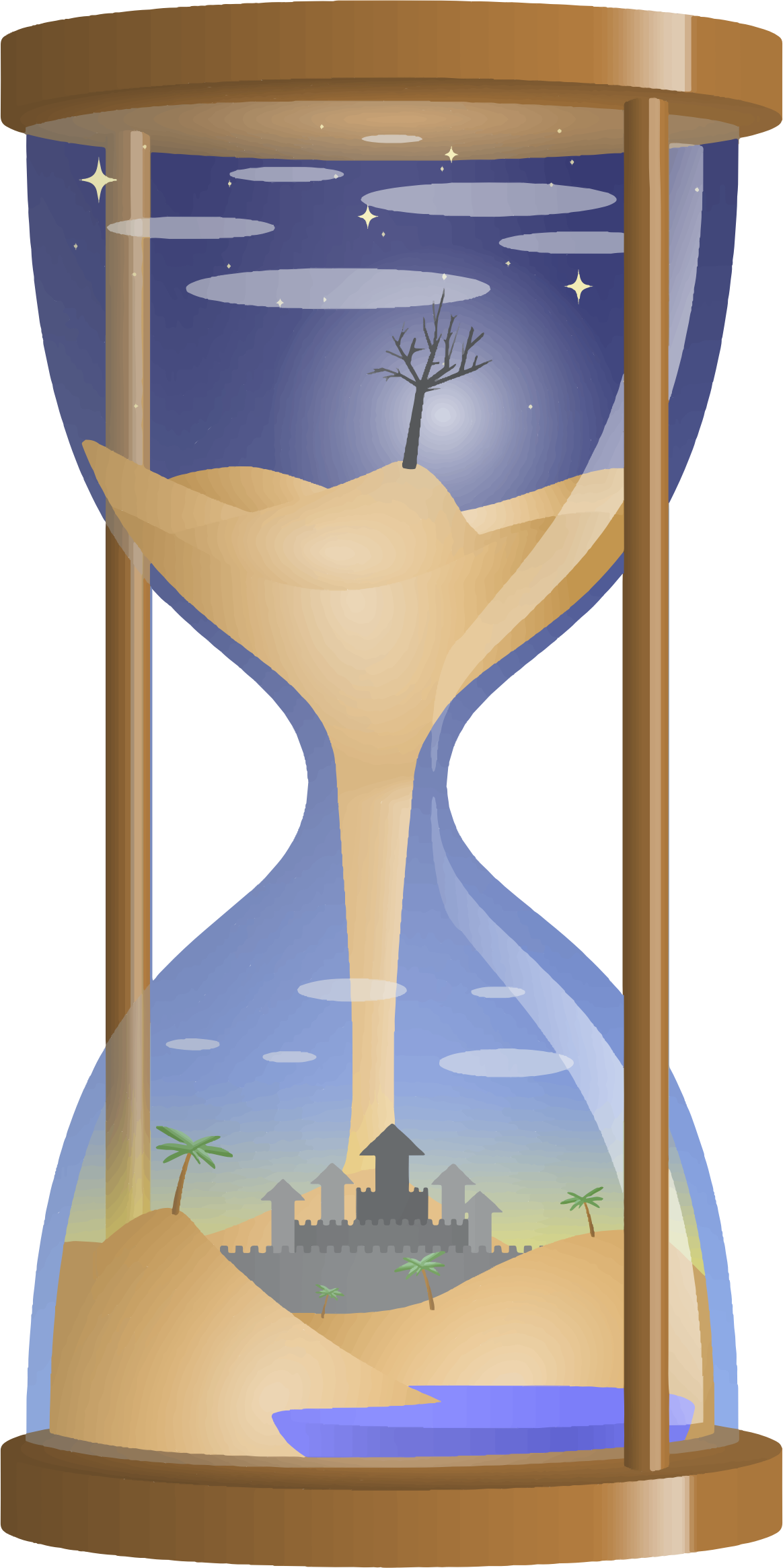 Fantasy Hourglass Trace 2 by GDJ