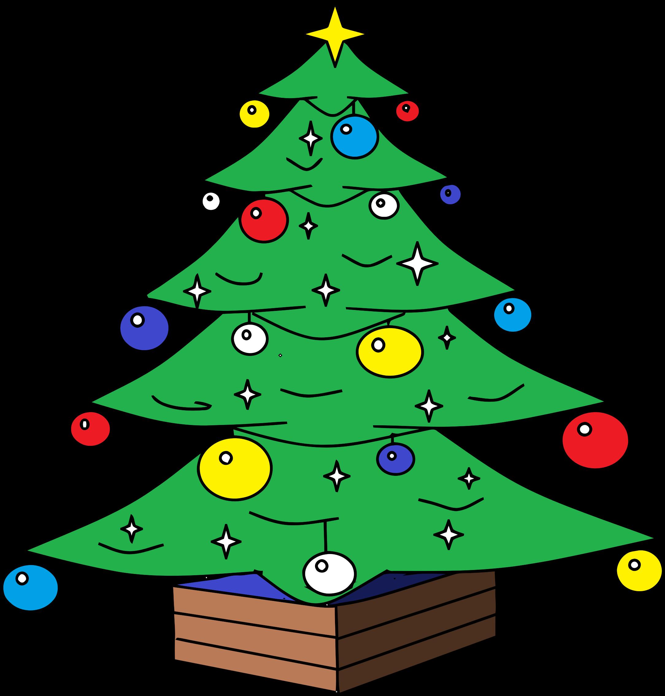 Clipart - Christmas Tree