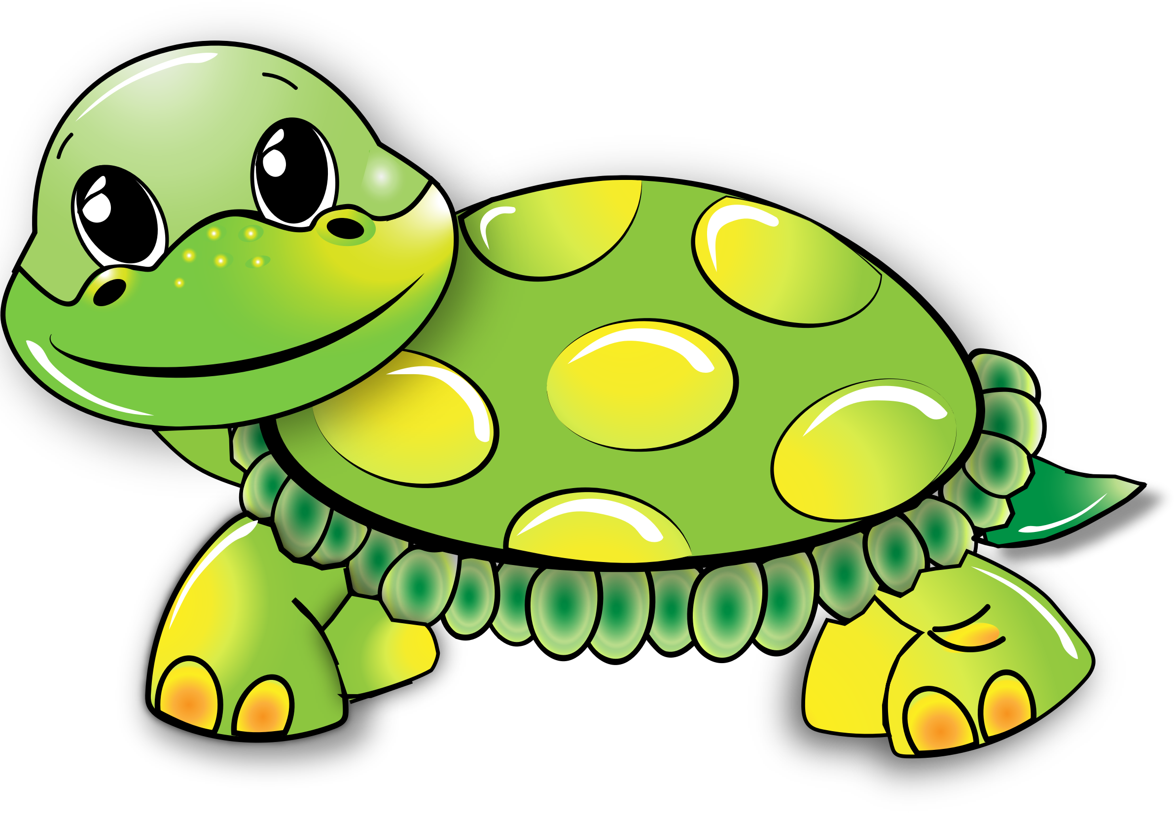 Cartoon Turtle by GDJ