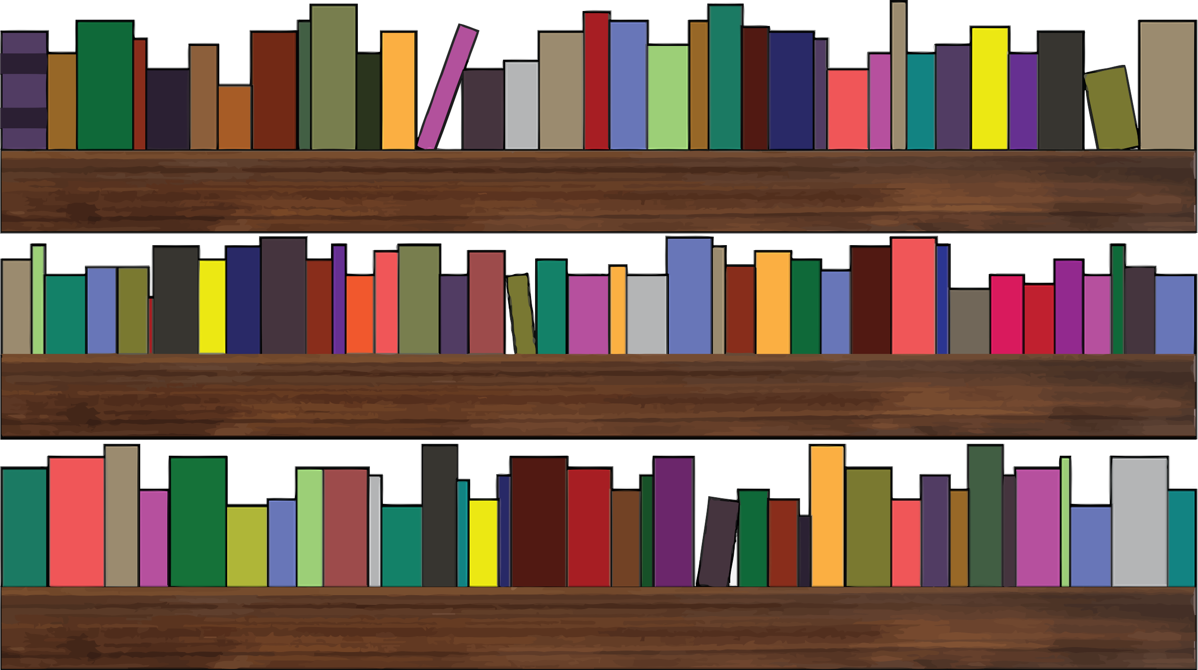 Pictures Of Bookshelves clipart - bookshelves