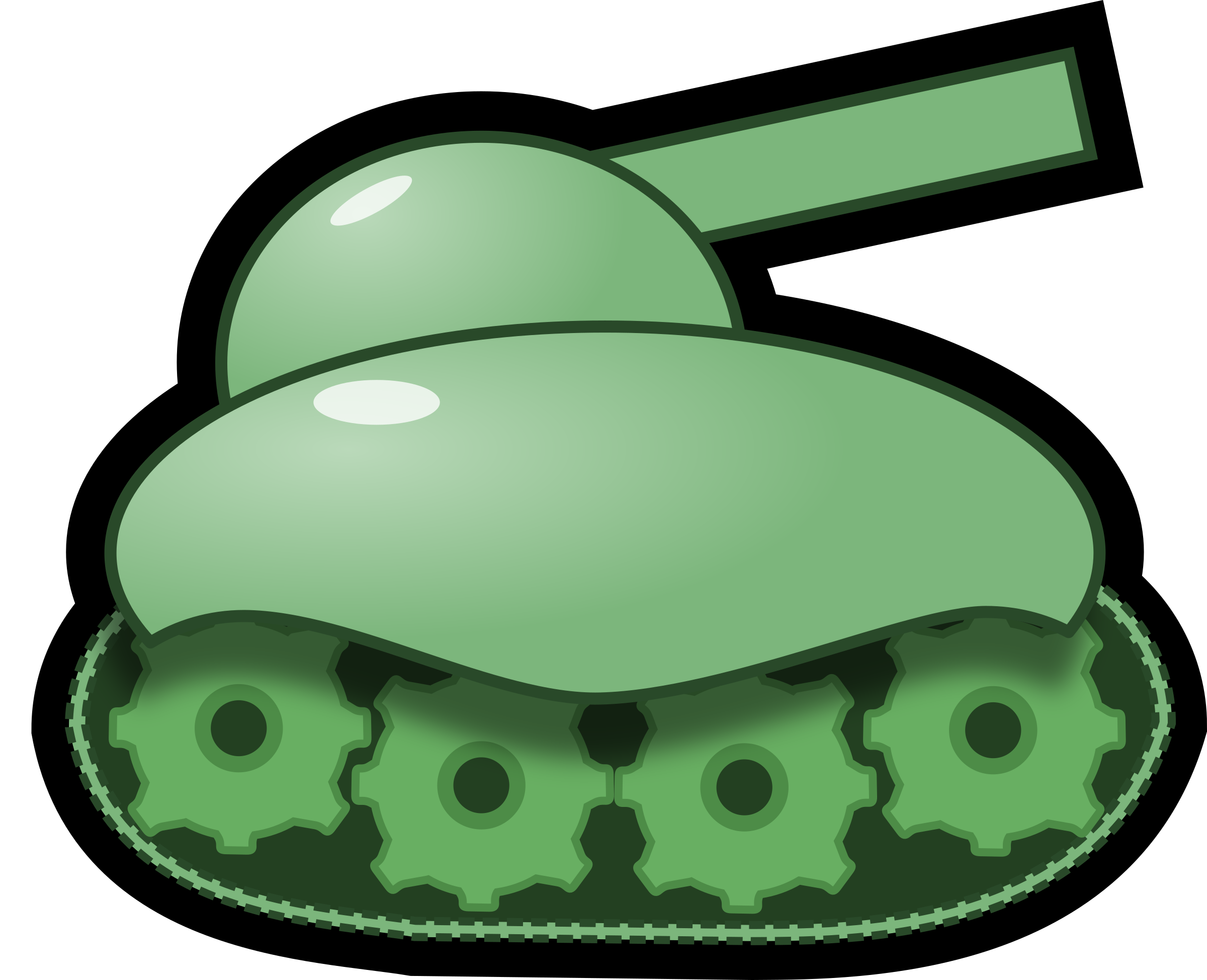 Green tank by Magnesus