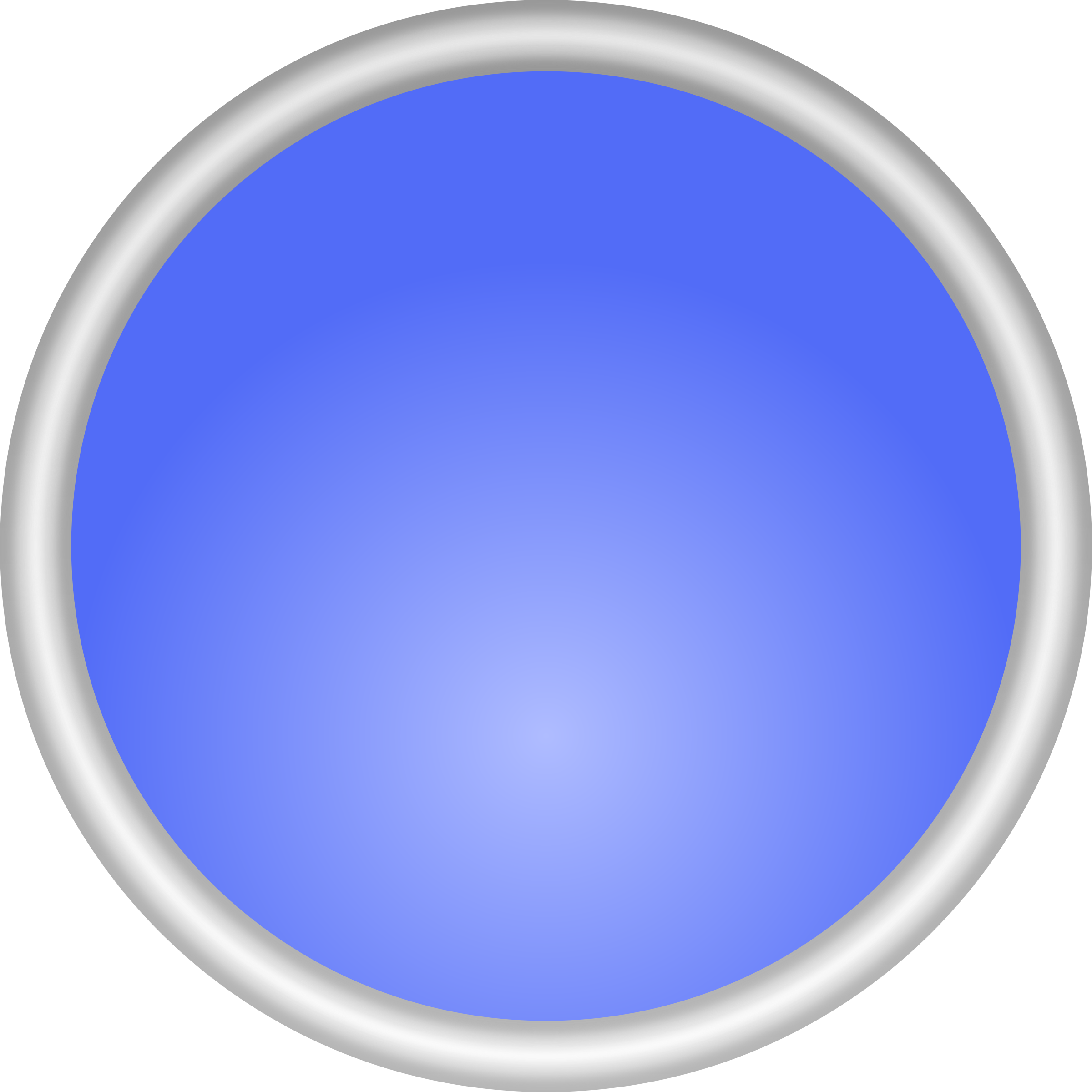 Shiny Blue Circle by adam_lowe