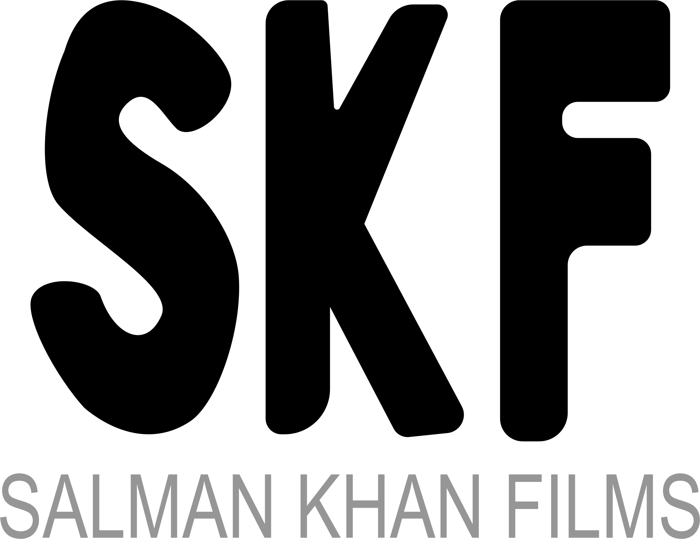 Salman Khan Films Typography (Request) by GDJ