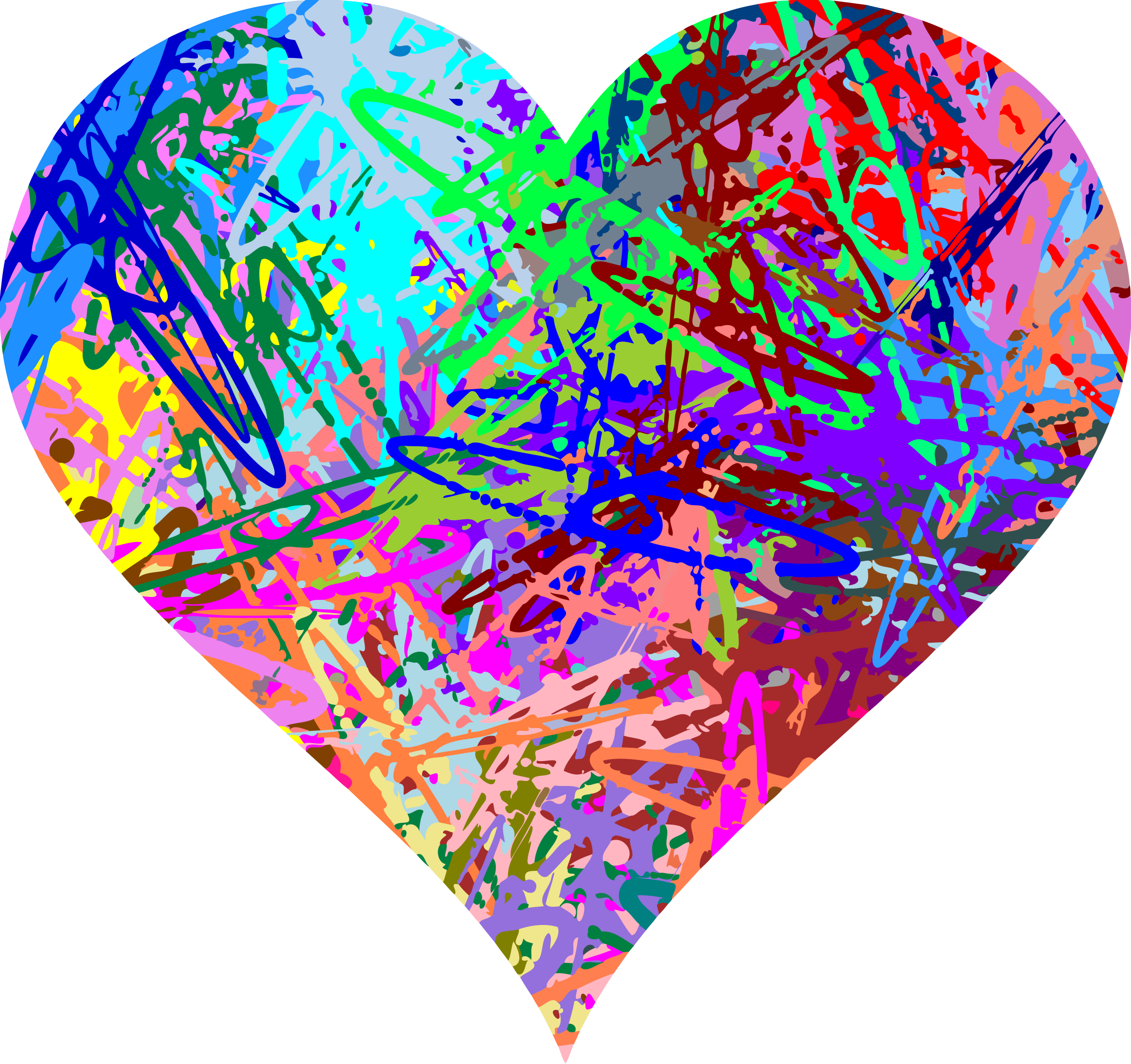 Pollock heart (reduced file size) by Firkin