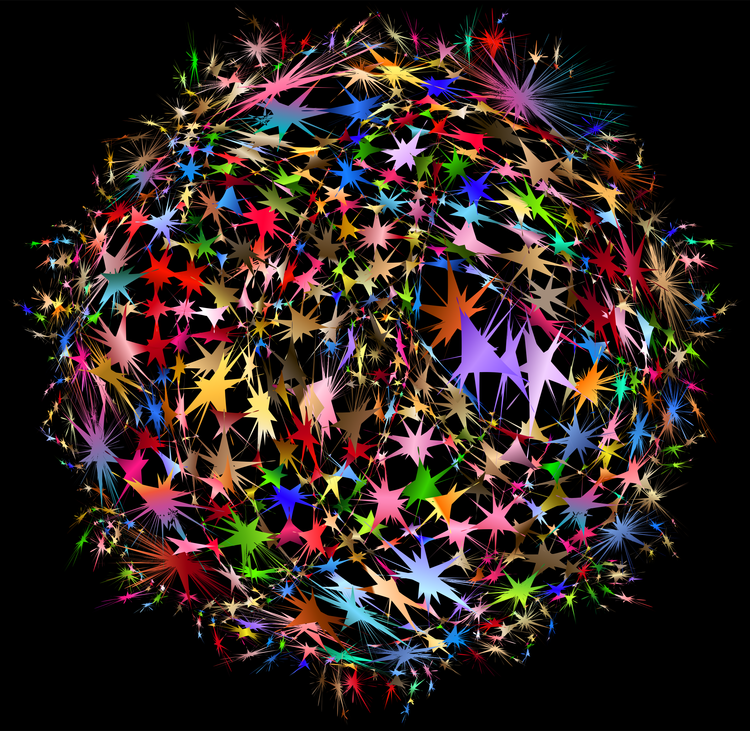 Neural Network With Background by GDJ