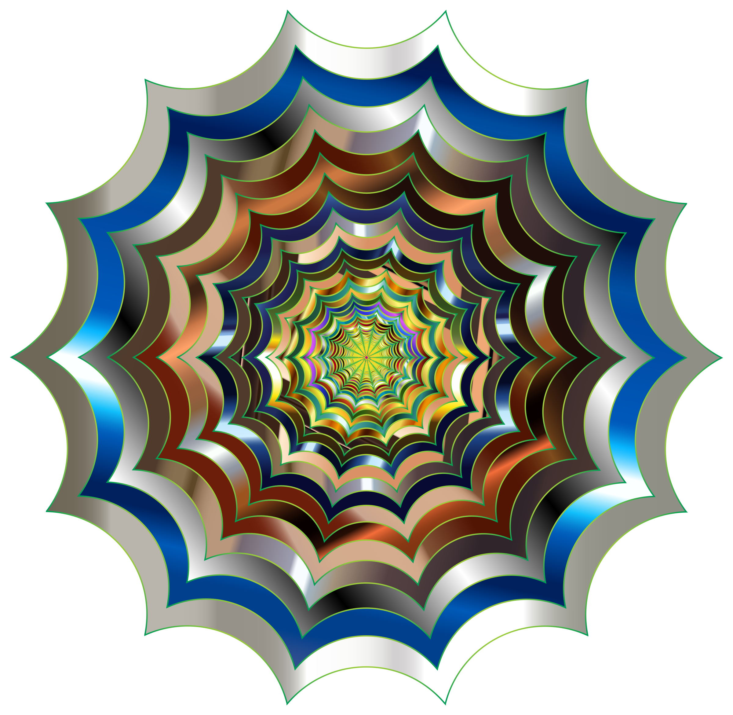 Spider Web Hypnotic Revitalized 3 by GDJ