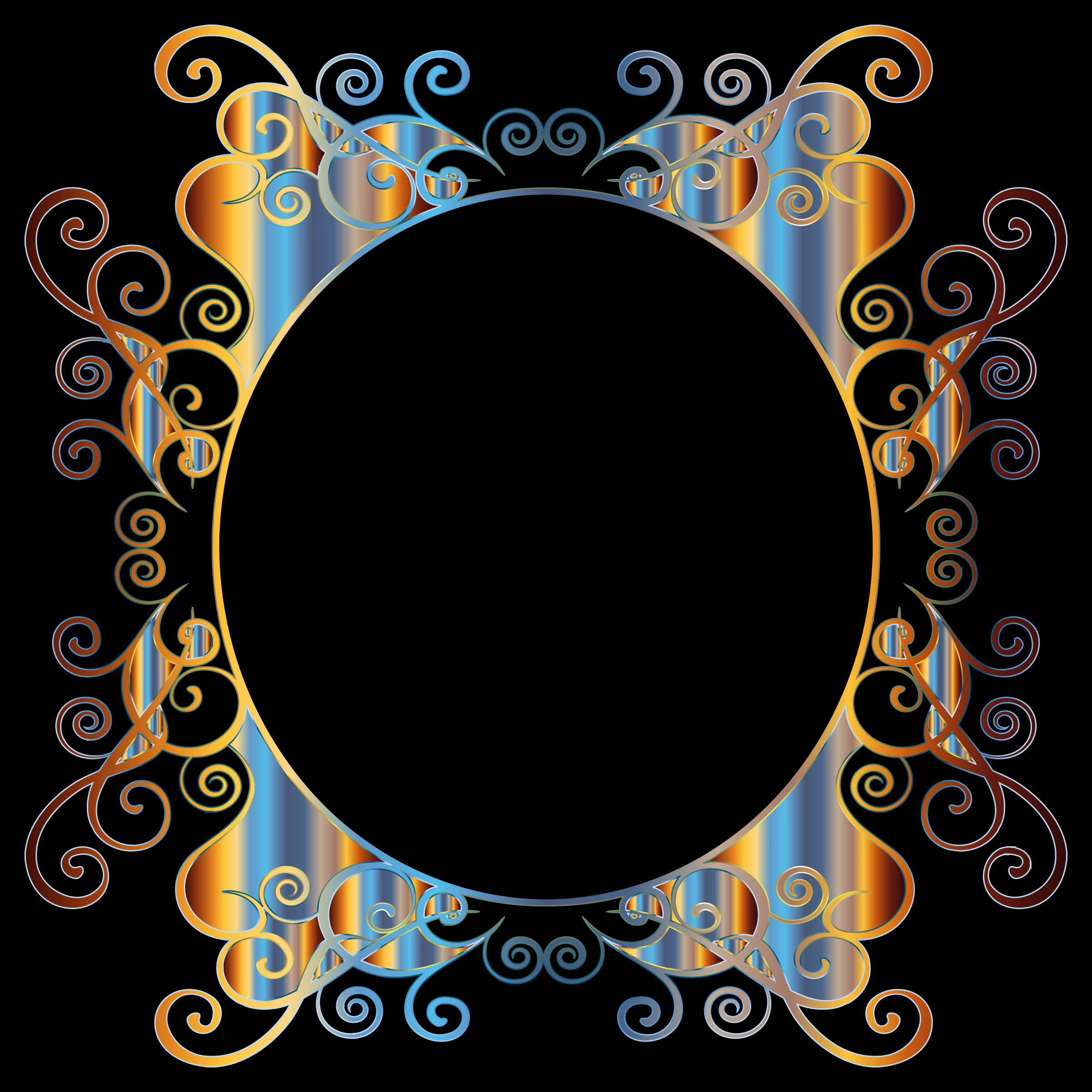 Prismatic Flourish Frame 2 by GDJ