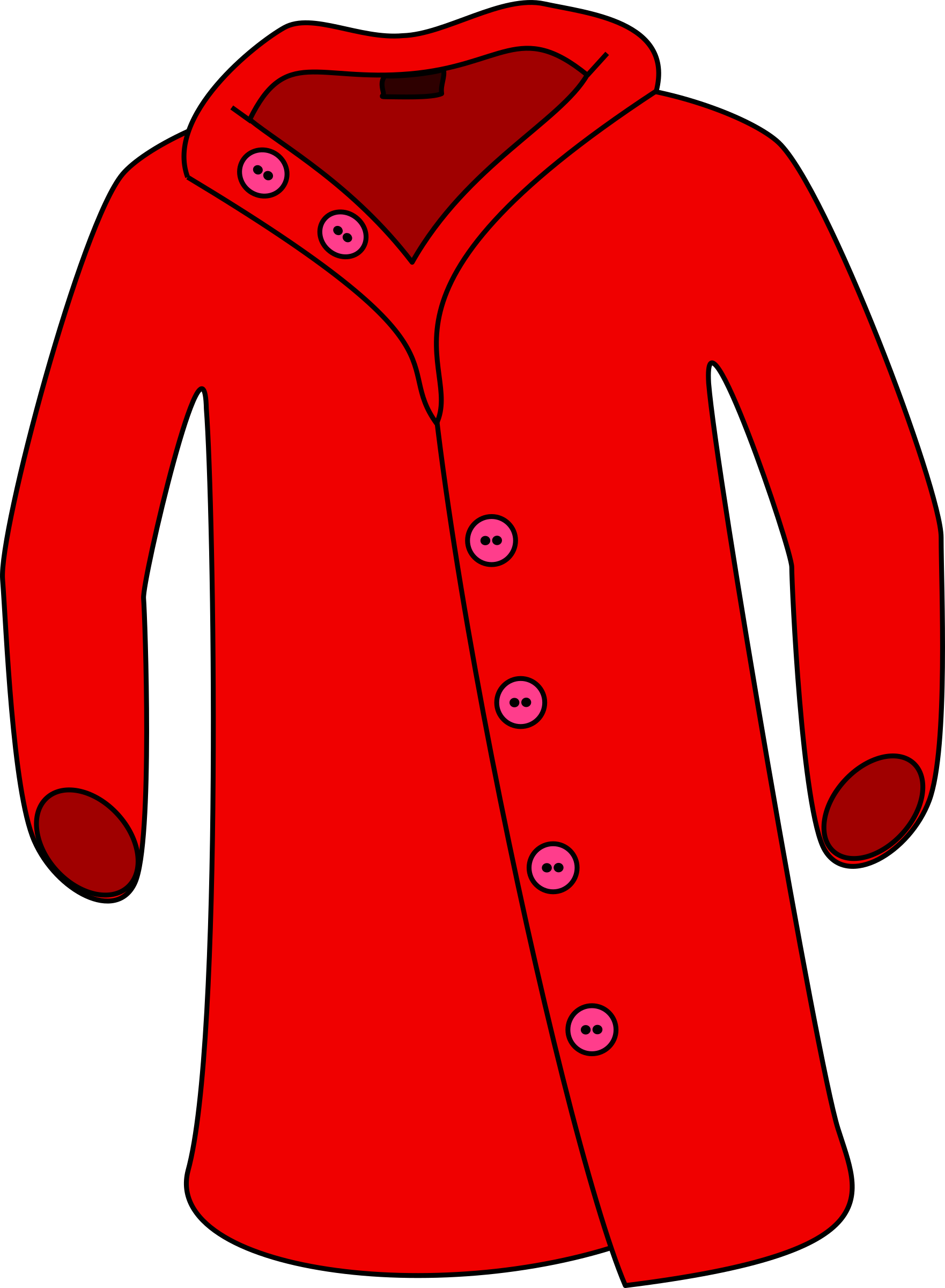 Red Overcoat by barnheartowl
