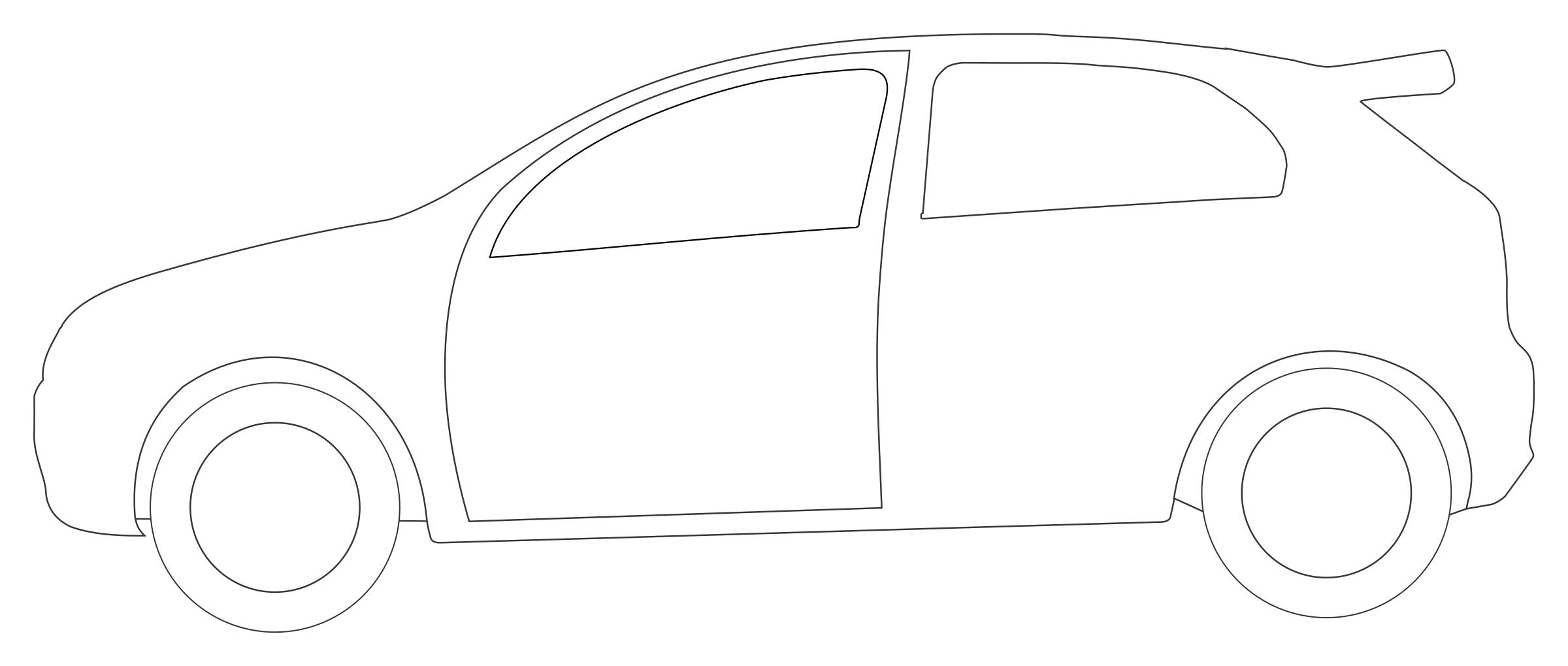 clipart rally car side view shape