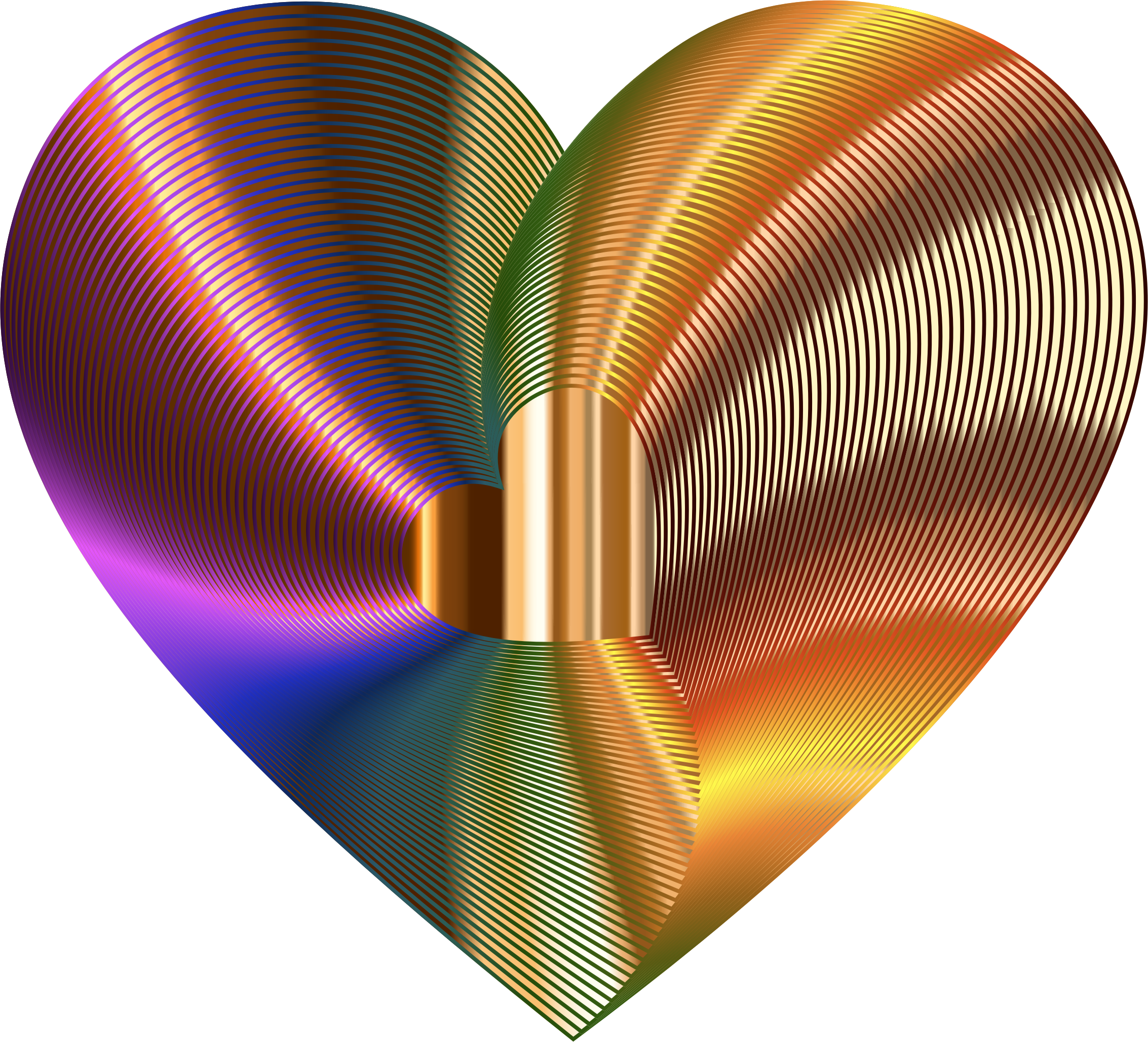 Golden Heart Of The Rainbow 2 by GDJ