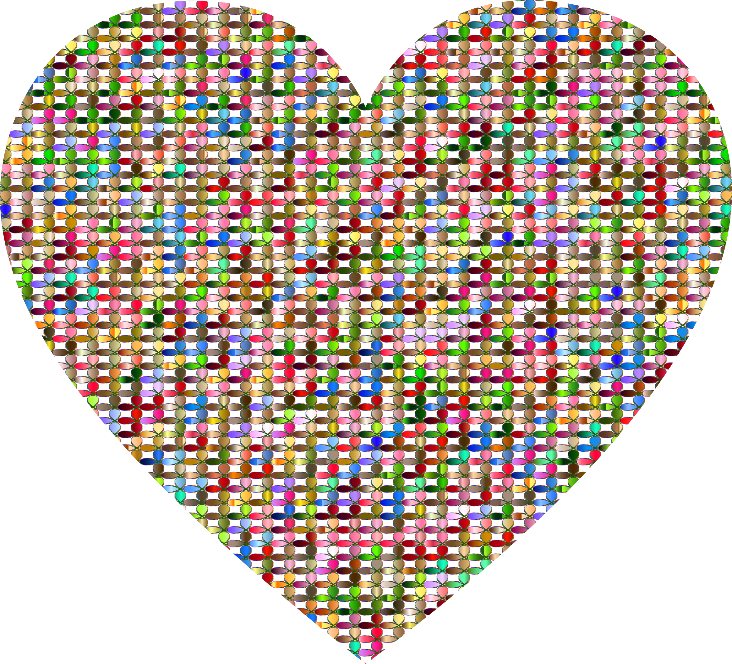 Prismatic Clover Heart by GDJ