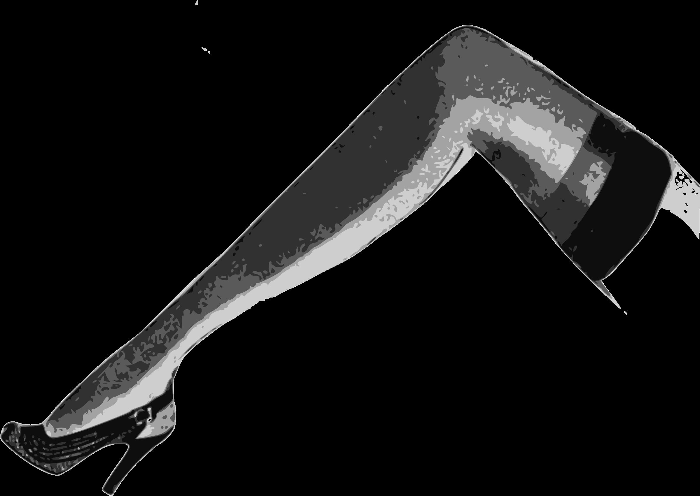 Clipart Classic Sexy Leg