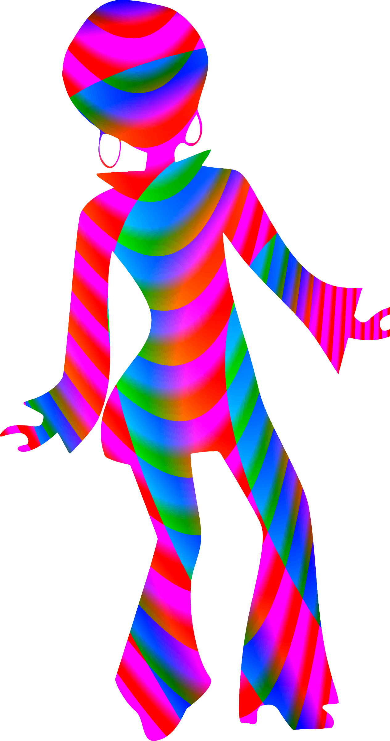 Colourful disco dancer 2 by Firkin