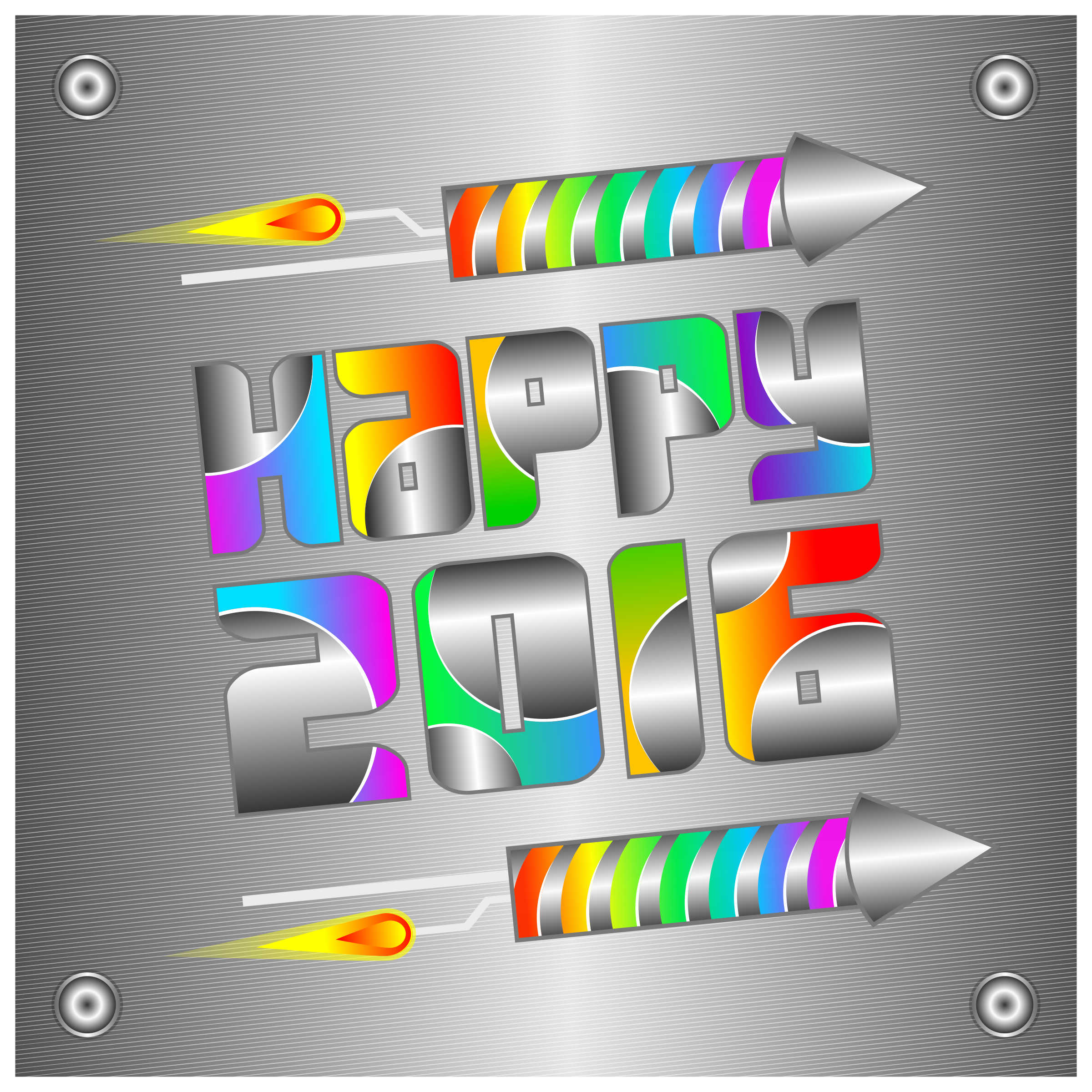 Happy 2016 Card by Viscious-Speed