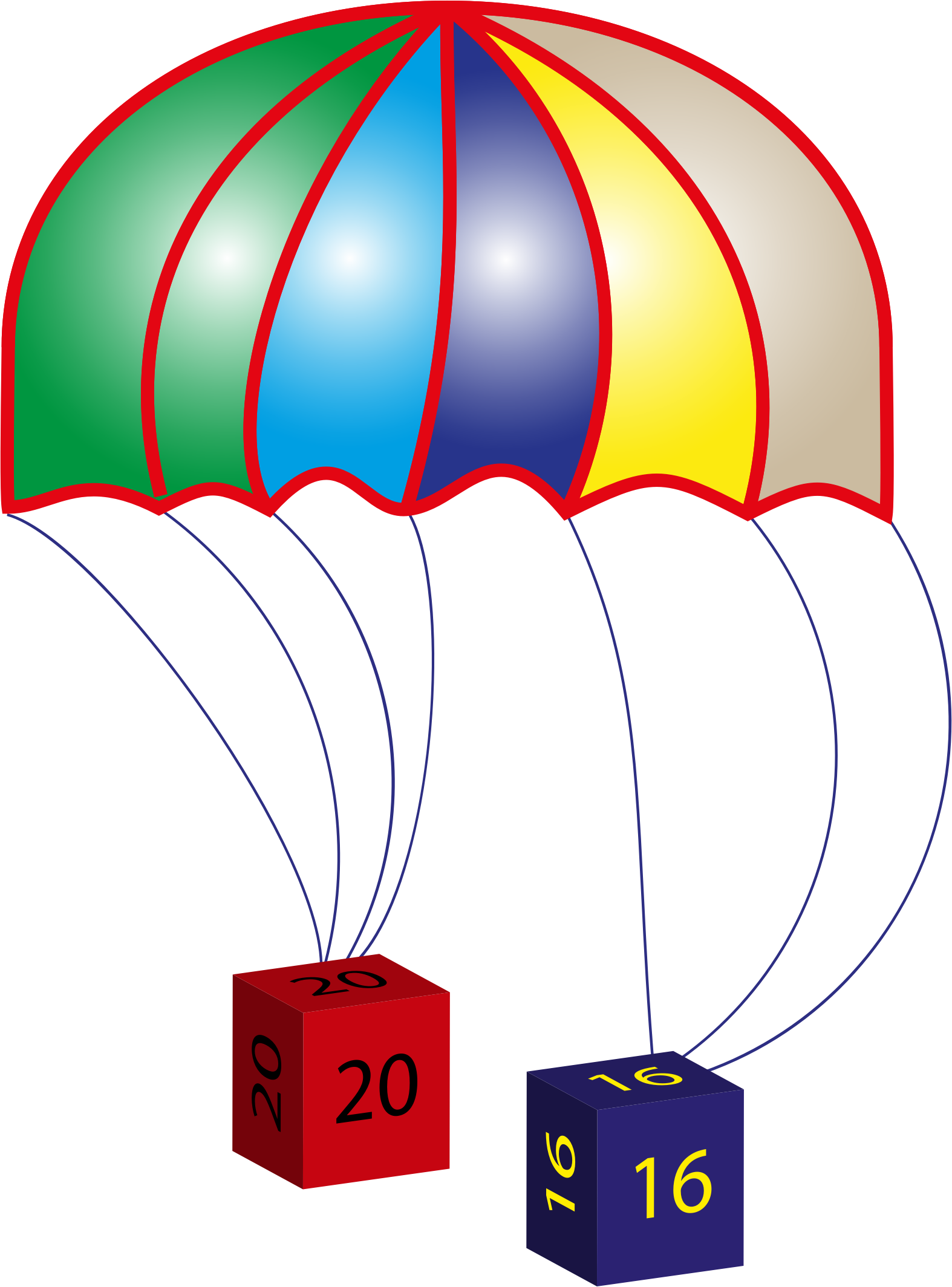 Clipart - 2016 Parachute Smooth