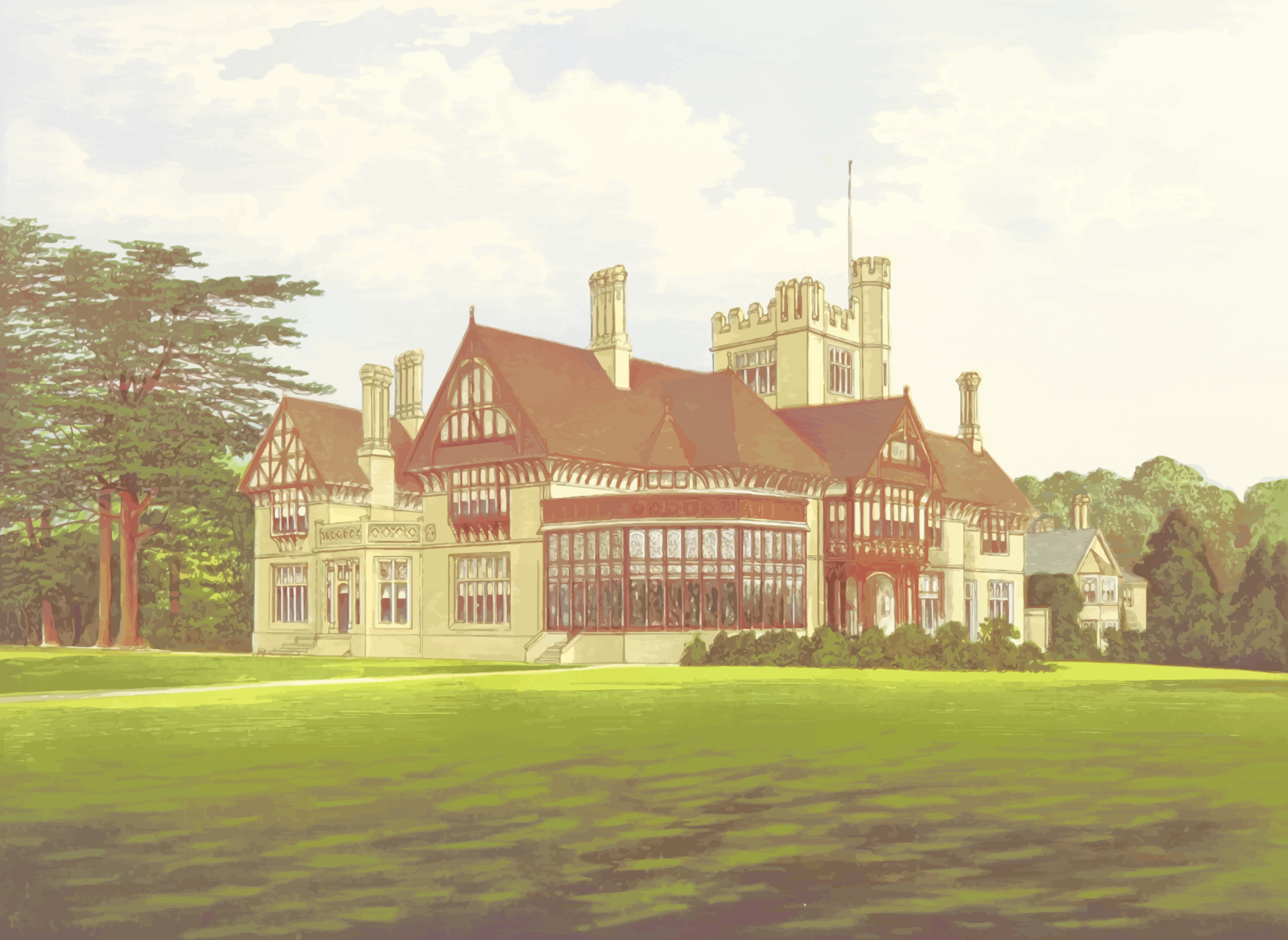 Cowdray Park by Firkin