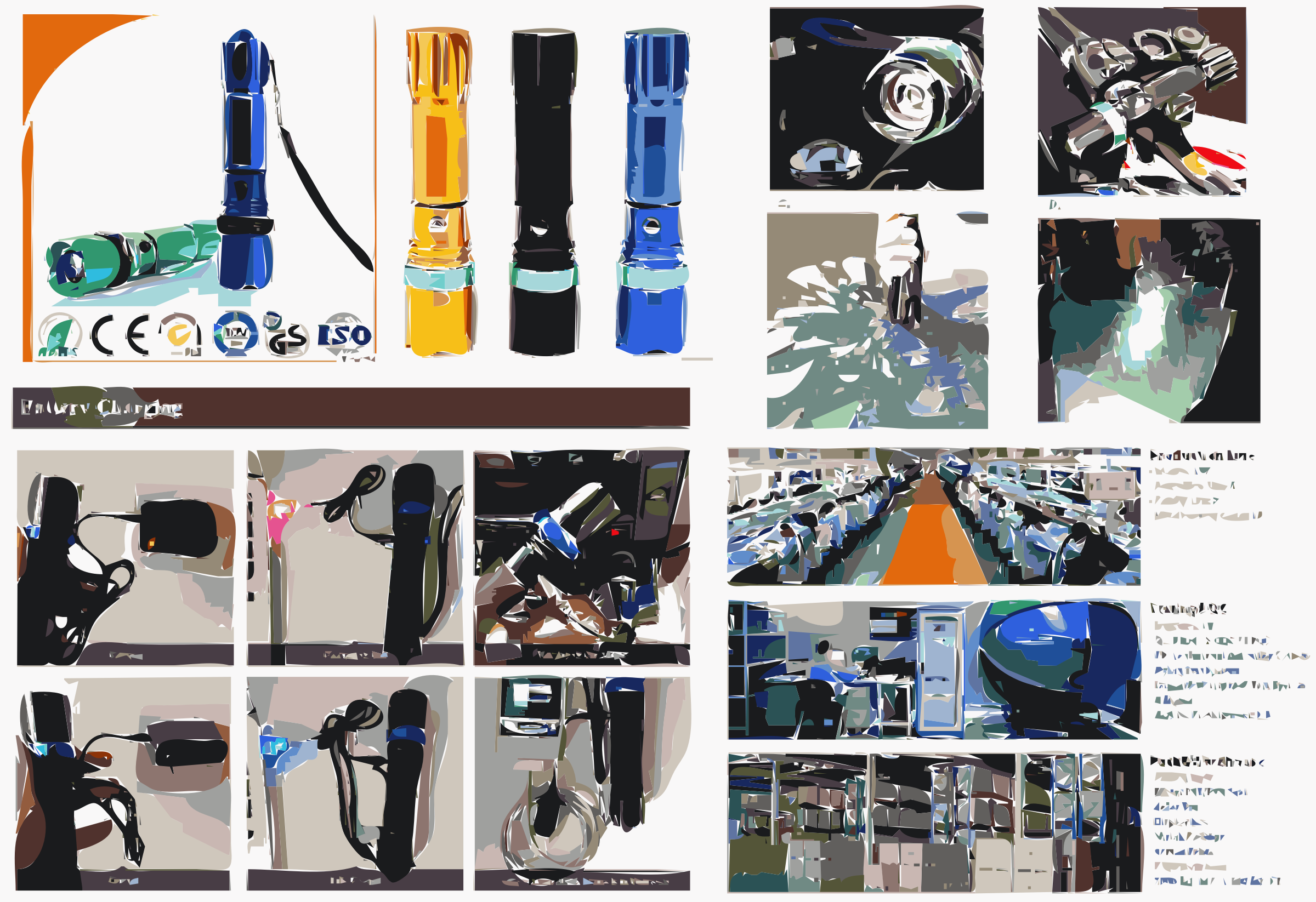 Latest High quality Metal Aluminum Material Led Flashlight by denglanbeiyi369