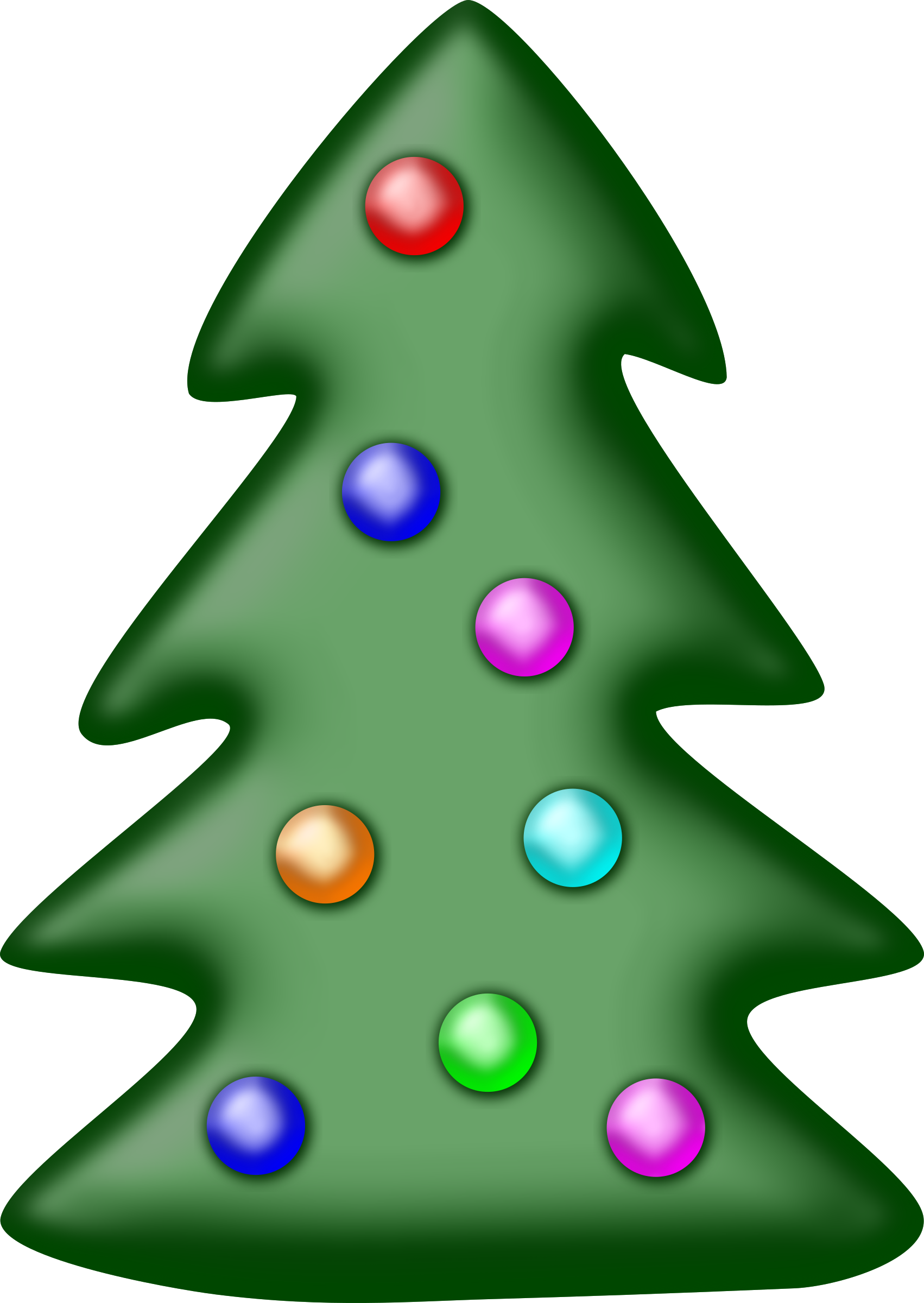 Christmas tree by Firkin