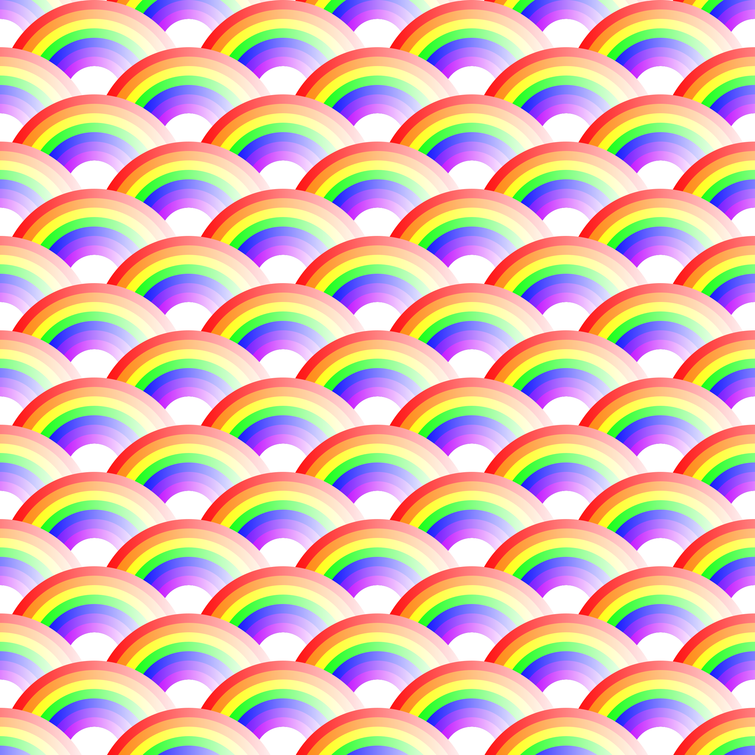Rainbow pattern 2 by Firkin