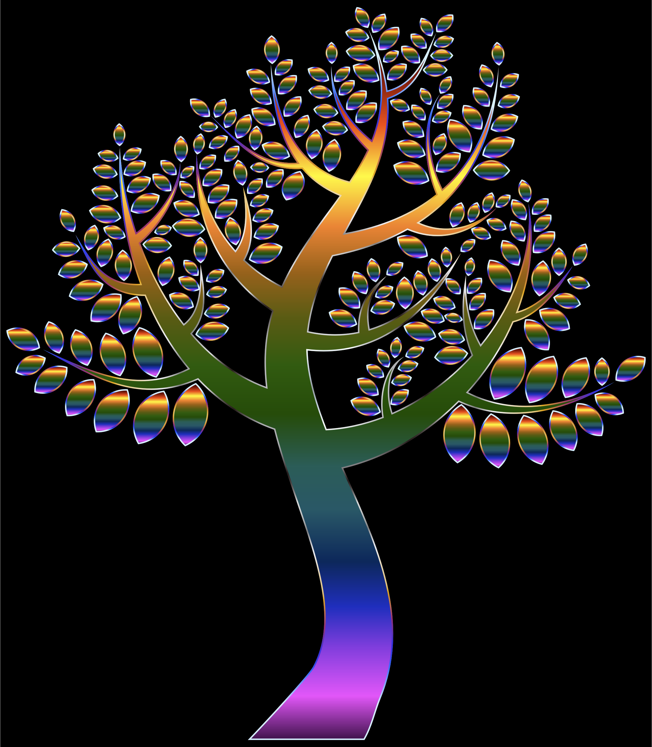 Simple Prismatic Tree 5 by GDJ